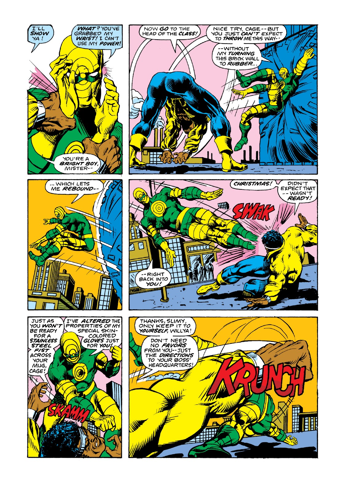 Read online Marvel Masterworks: Luke Cage, Power Man comic -  Issue # TPB 3 (Part 2) - 35