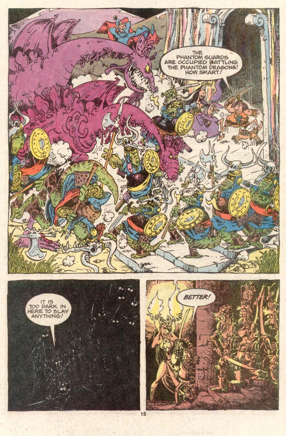 Read online Sergio Aragonés Groo the Wanderer comic -  Issue #47 - 15