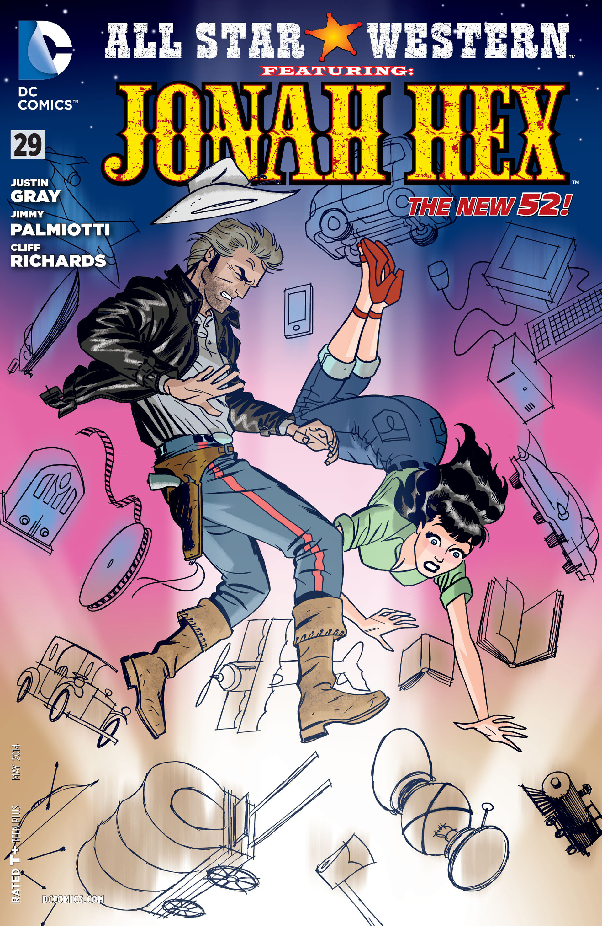 Read online All-Star Western (2011) comic -  Issue #29 - 1