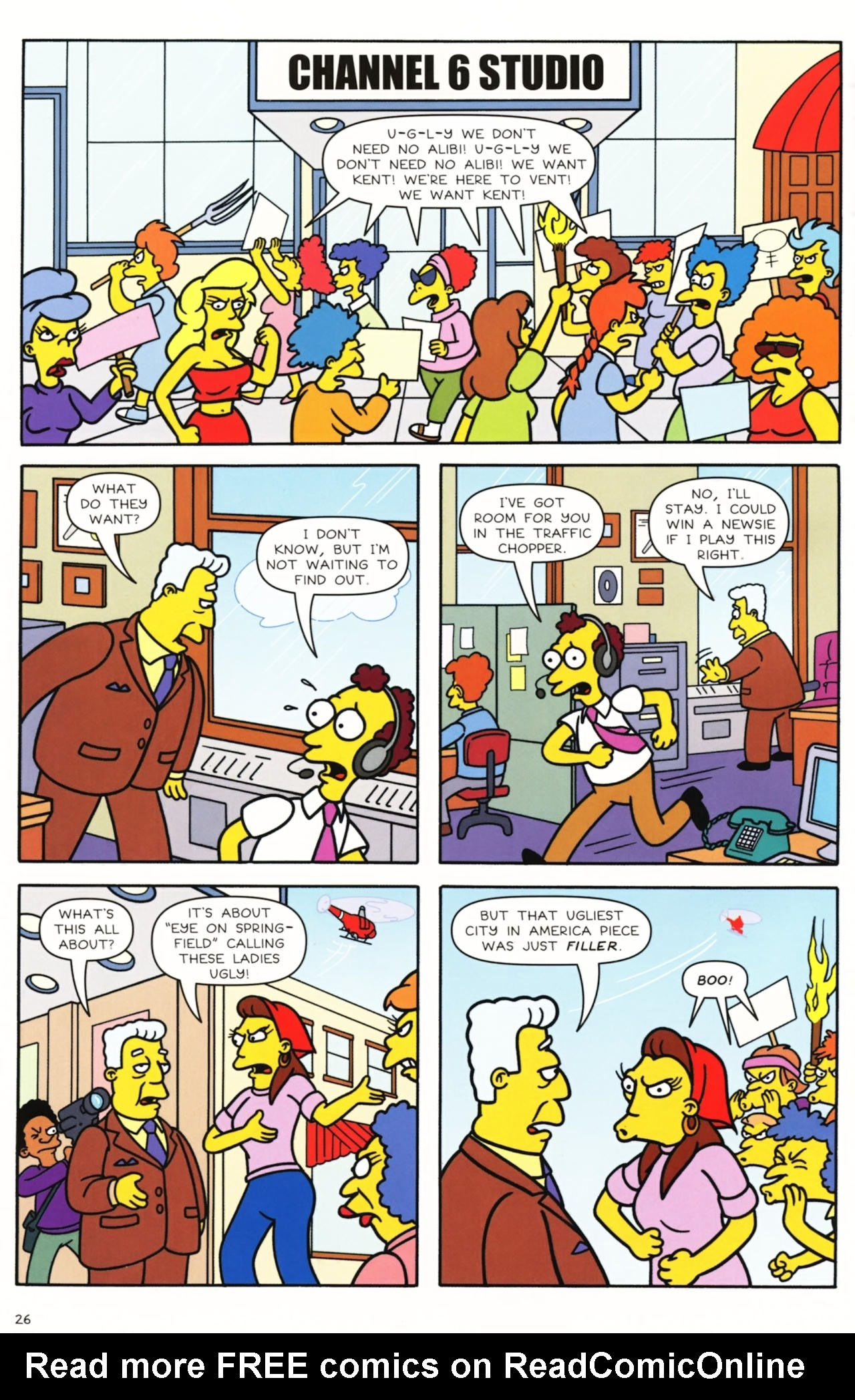 Read online Simpsons Comics comic -  Issue #157 - 22