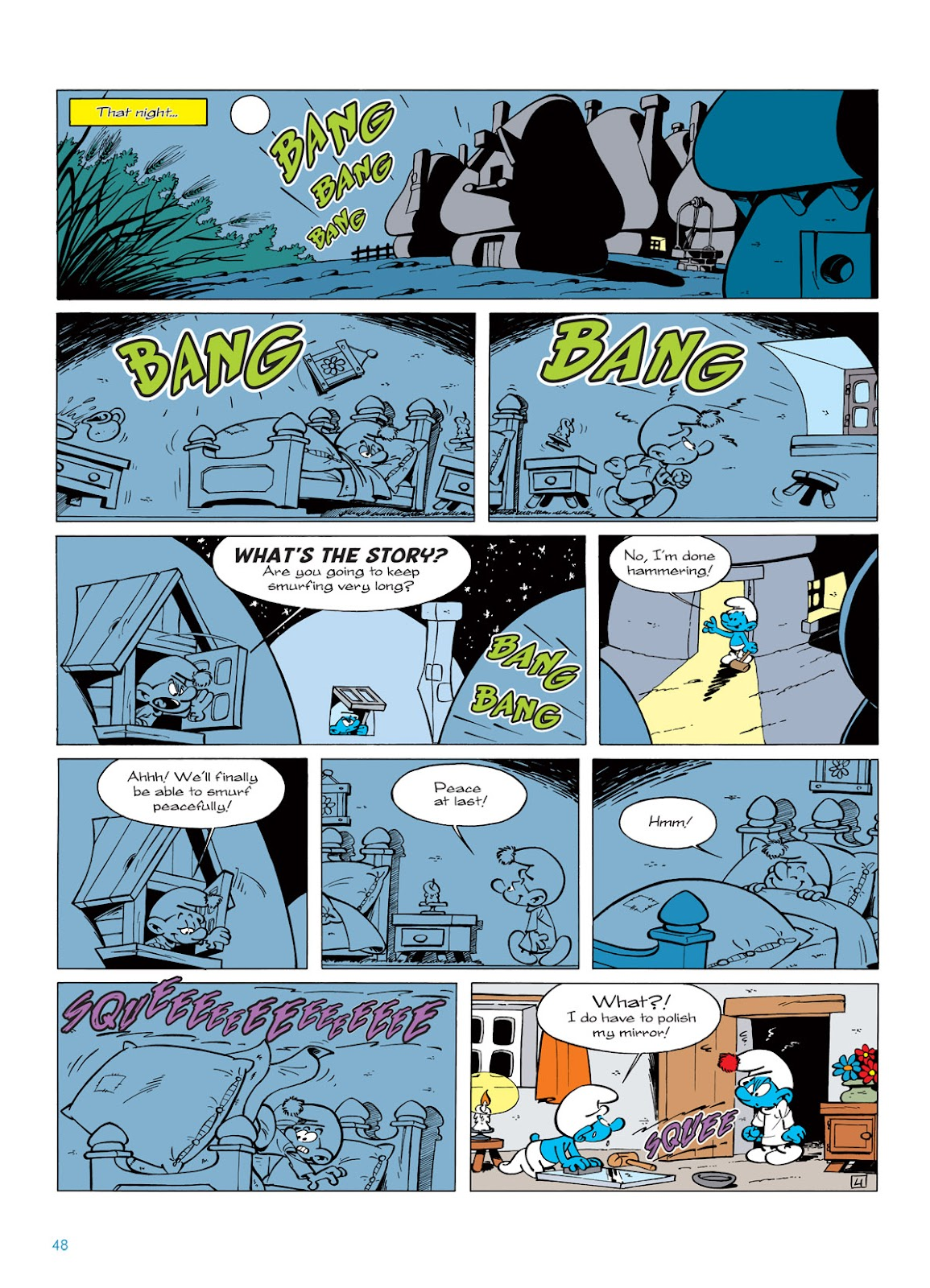 Read online The Smurfs comic -  Issue #5 - 48