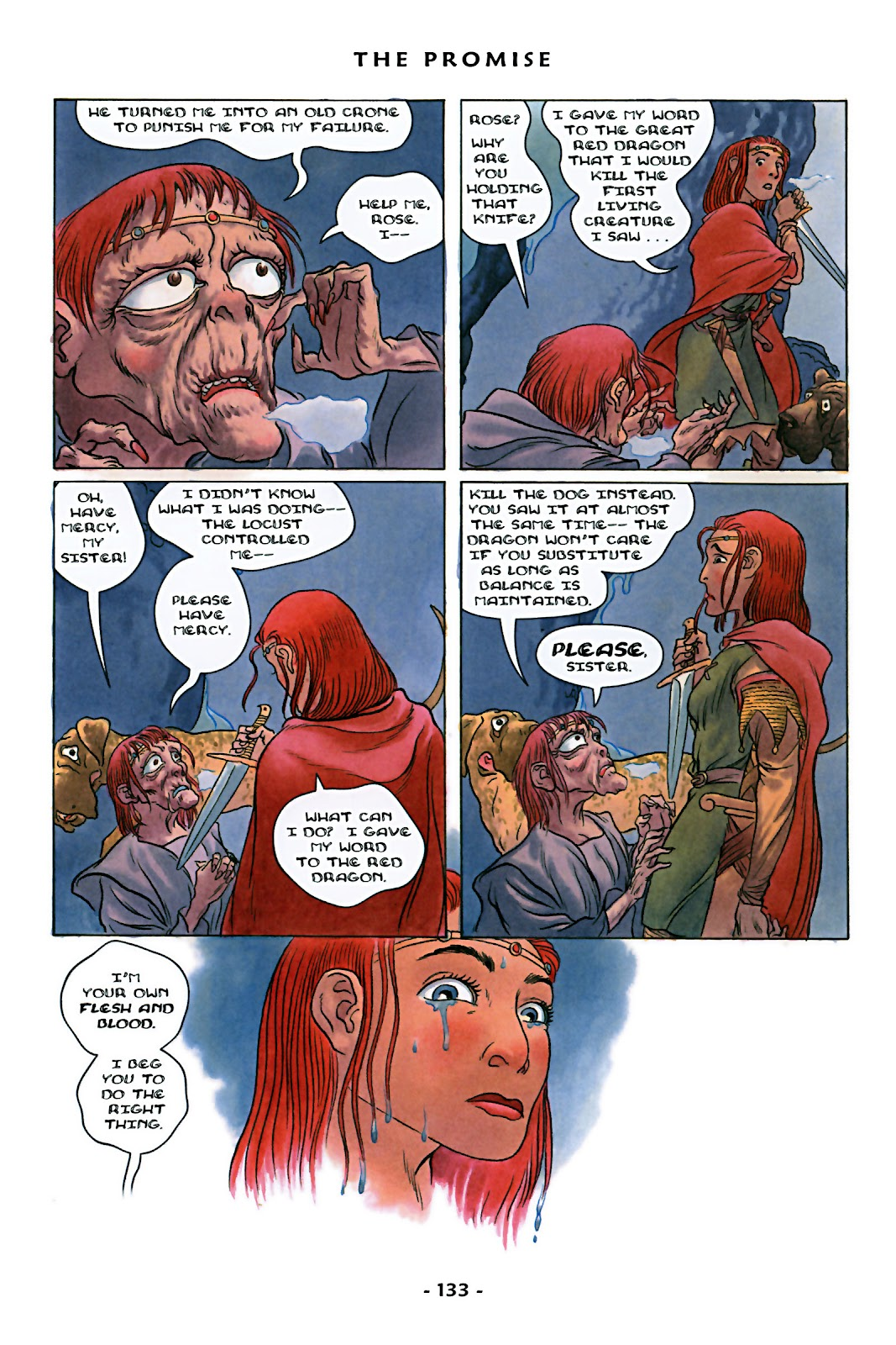 Read online Rose (2000) comic -  Issue # TPB - 138