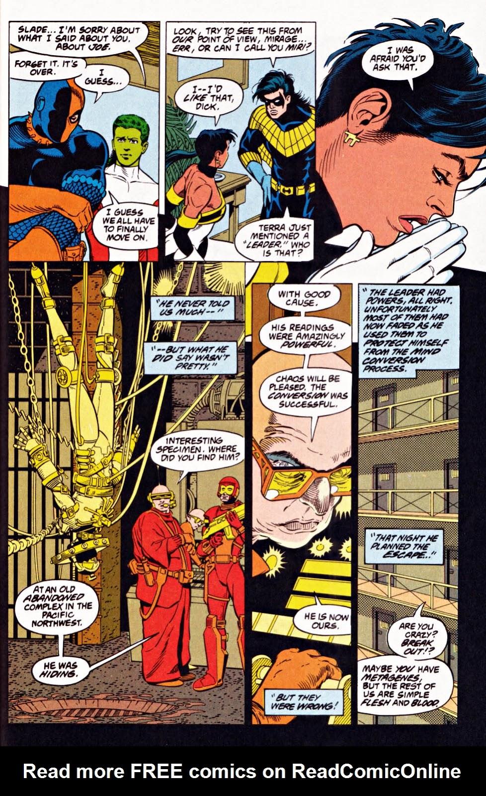 Read online Team Titans comic -  Issue #1e - 35