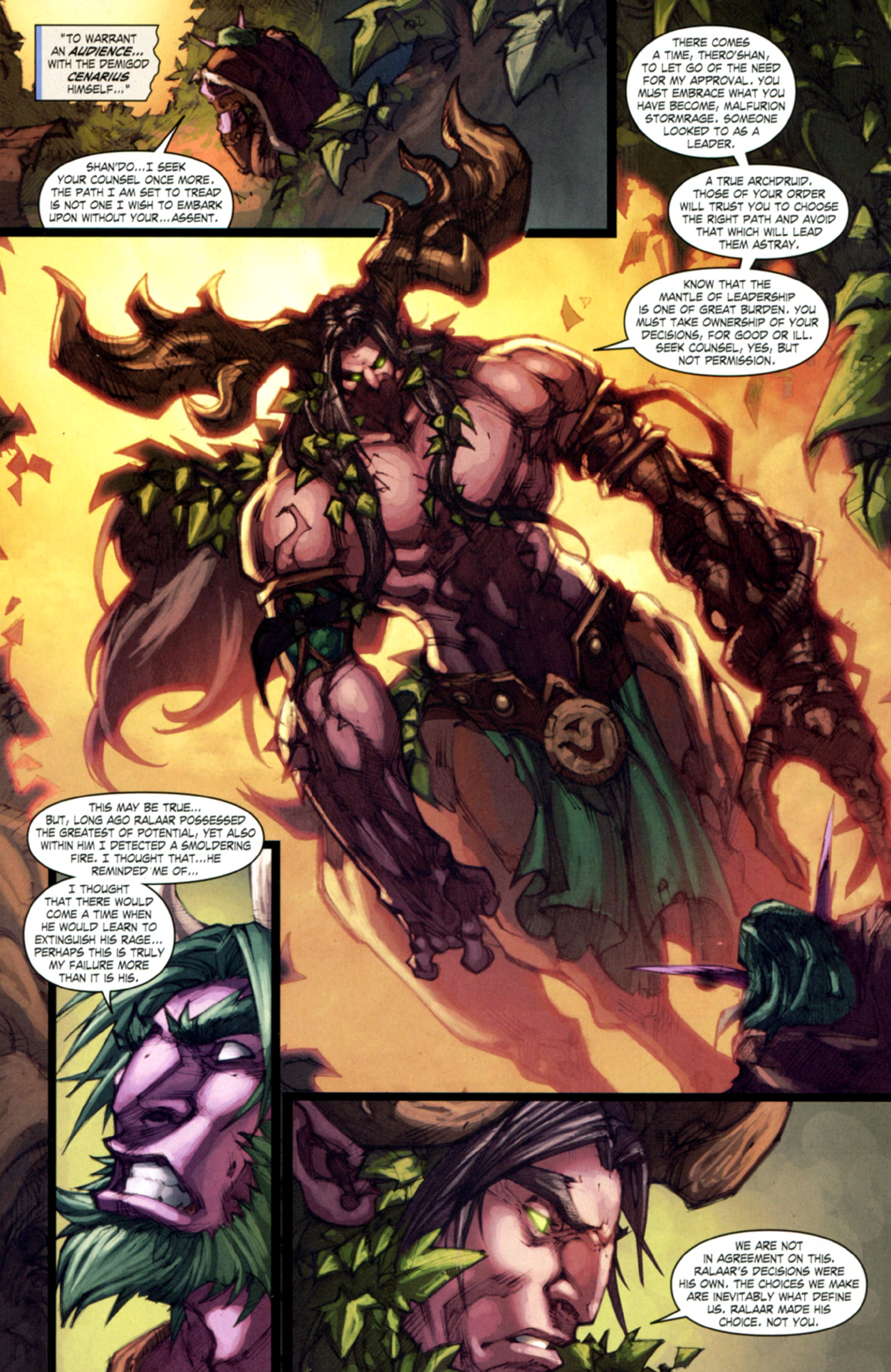 Read online World of Warcraft: Curse of the Worgen comic -  Issue #4 - 14