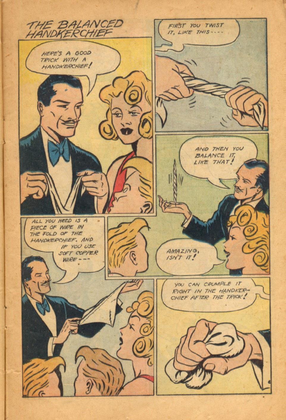 Read online Super-Magician Comics comic -  Issue #52 - 20