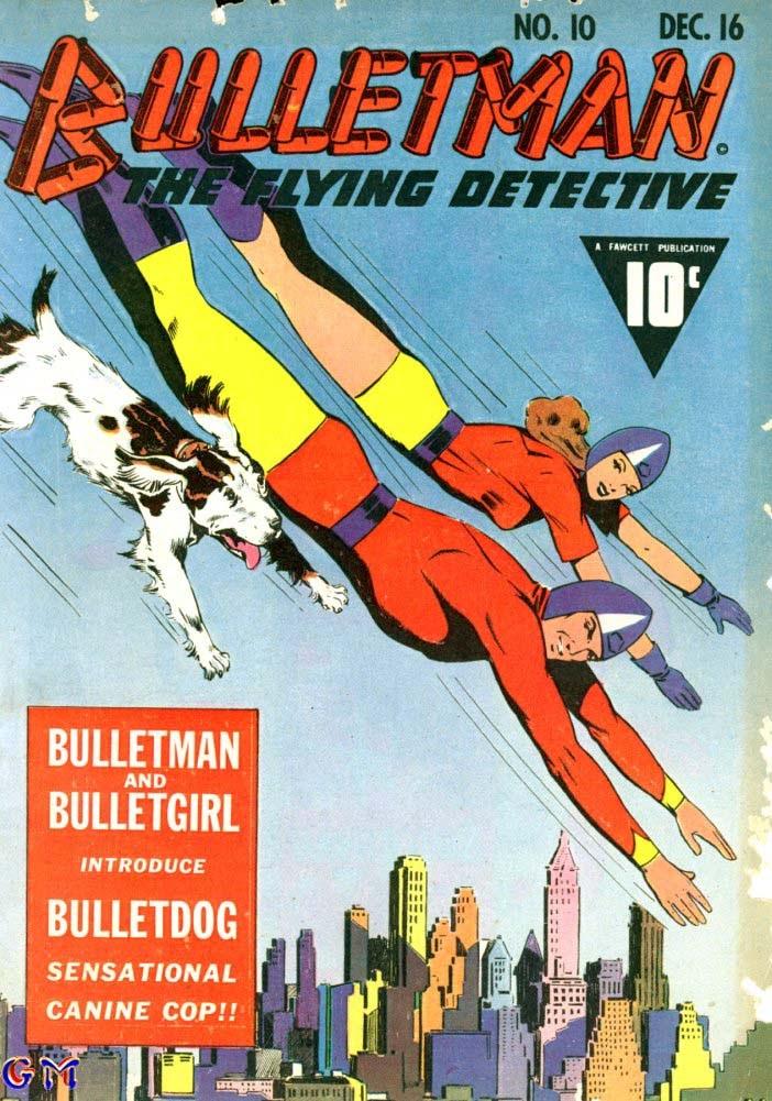 Bulletman 10 Page 1