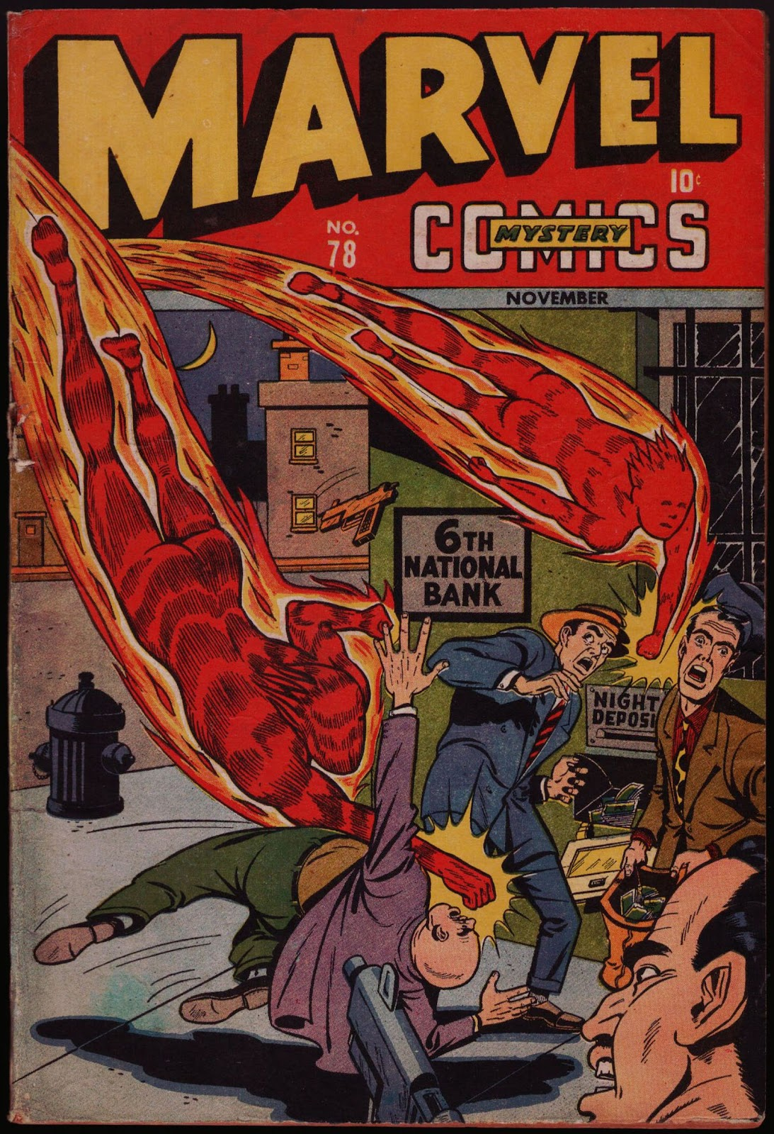 Marvel Mystery Comics (1939) issue 78 - Page 1