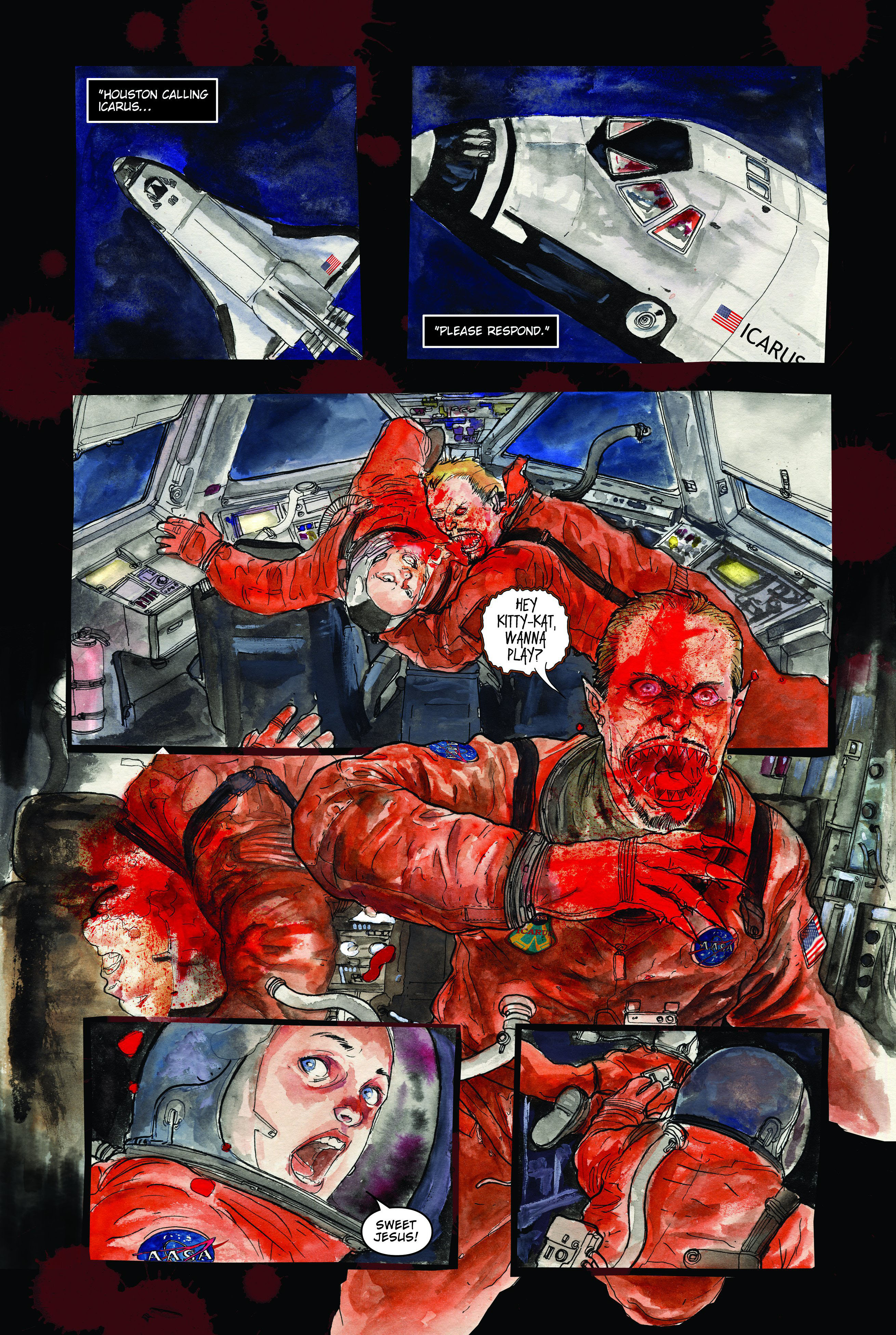 30 Days of Night: Dead Space 1 Page 17