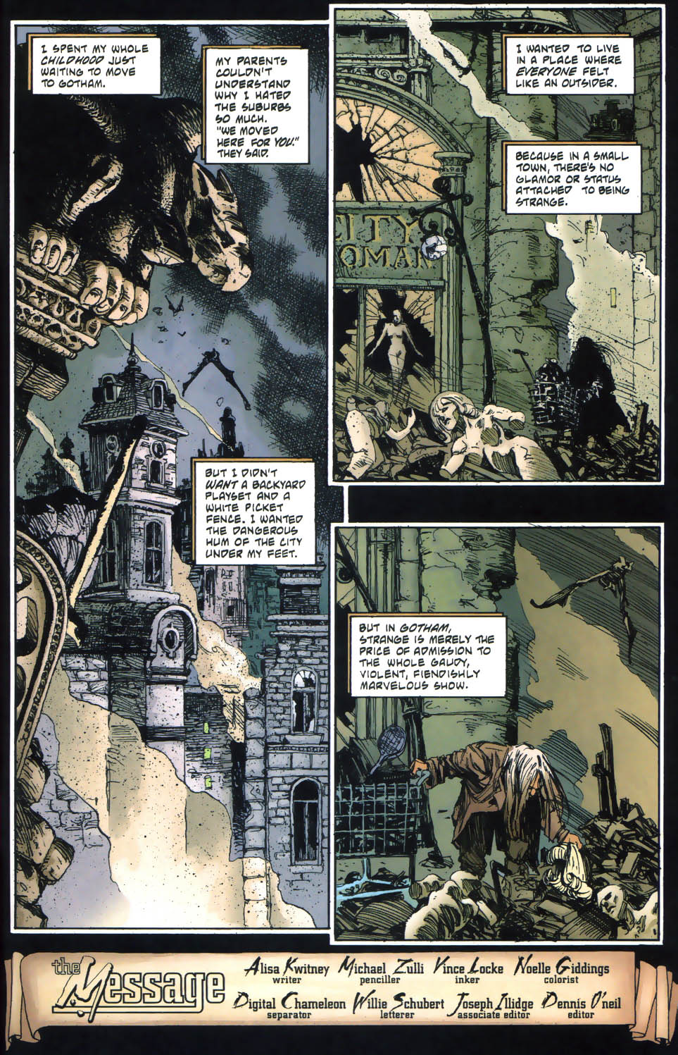 Read online Batman: No Man's Land Secret Files comic -  Issue # Full - 4