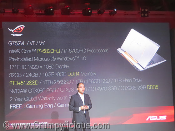 asus roc gaming laptop