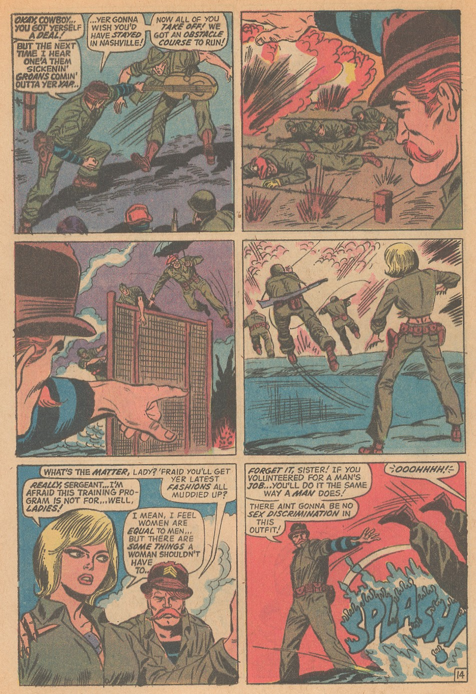 Read online Sgt. Fury comic -  Issue #98 - 20