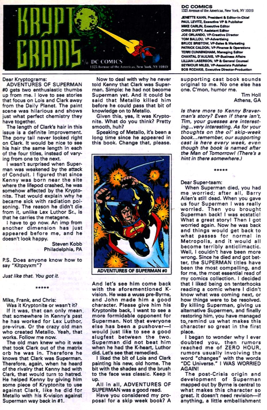 Read online Adventures of Superman (1987) comic -  Issue #520 - 24