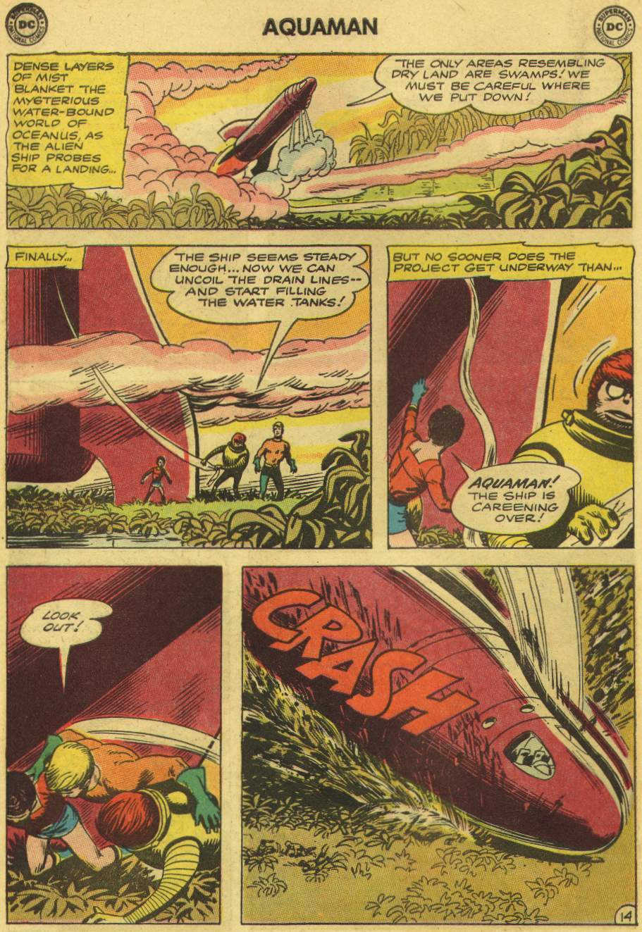 Read online Aquaman (1962) comic -  Issue #8 - 18