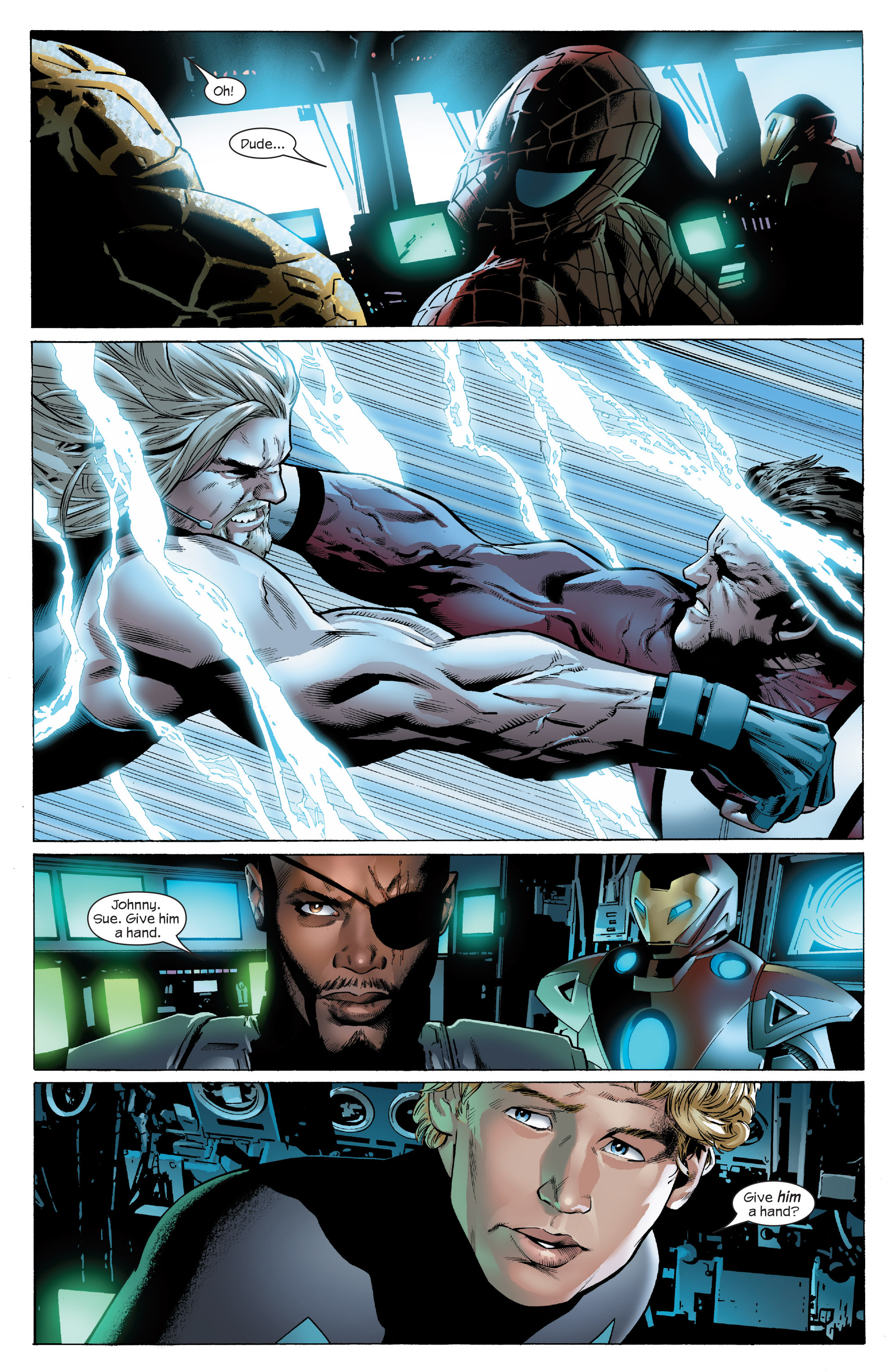 Read online Ultimate Power comic -  Issue #5 - 6