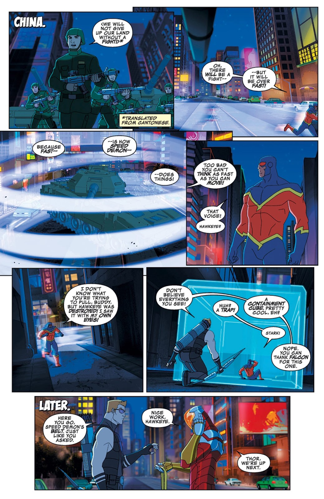 Read online Marvel Universe Avengers Assemble Season 2 comic -  Issue #14 - 10