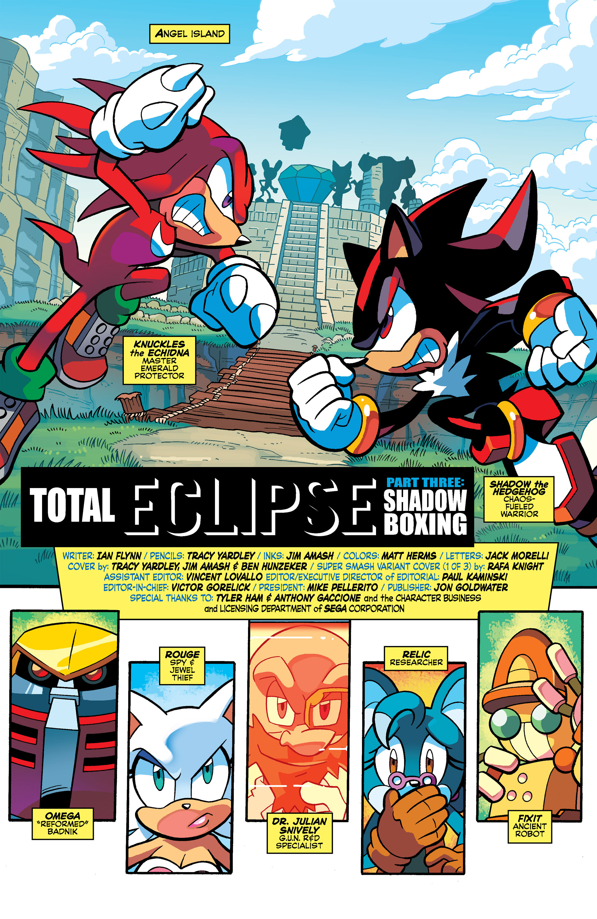 Read online Sonic Universe comic -  Issue #69 - 3