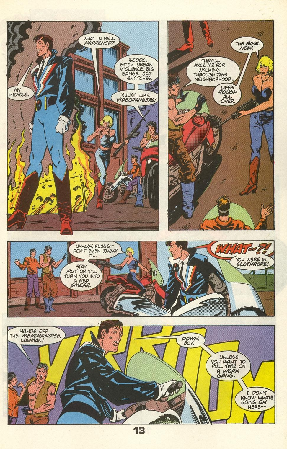 Read online American Flagg! comic -  Issue #35 - 17