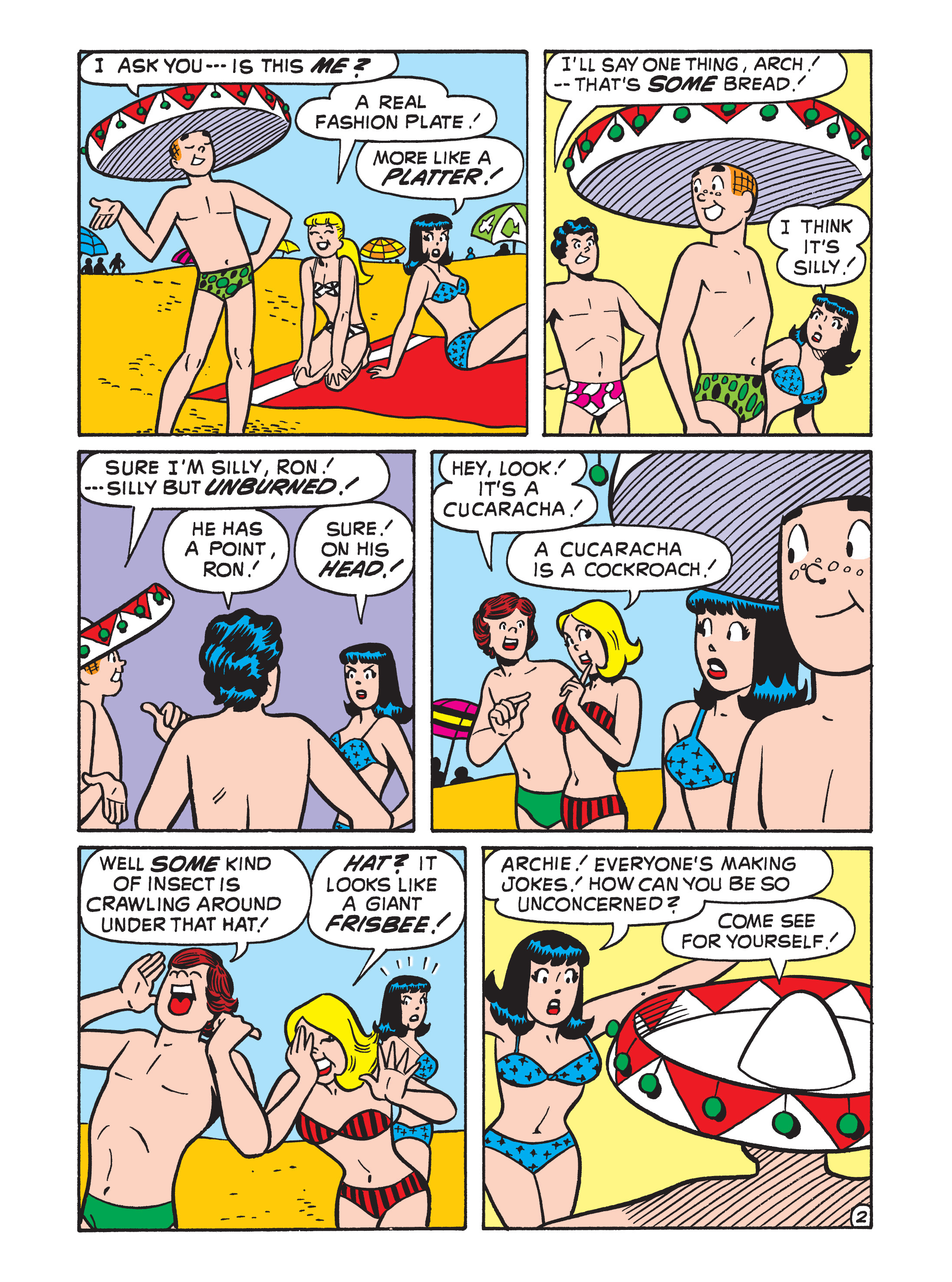 Read online Archie 75th Anniversary Digest comic -  Issue #5 - 76