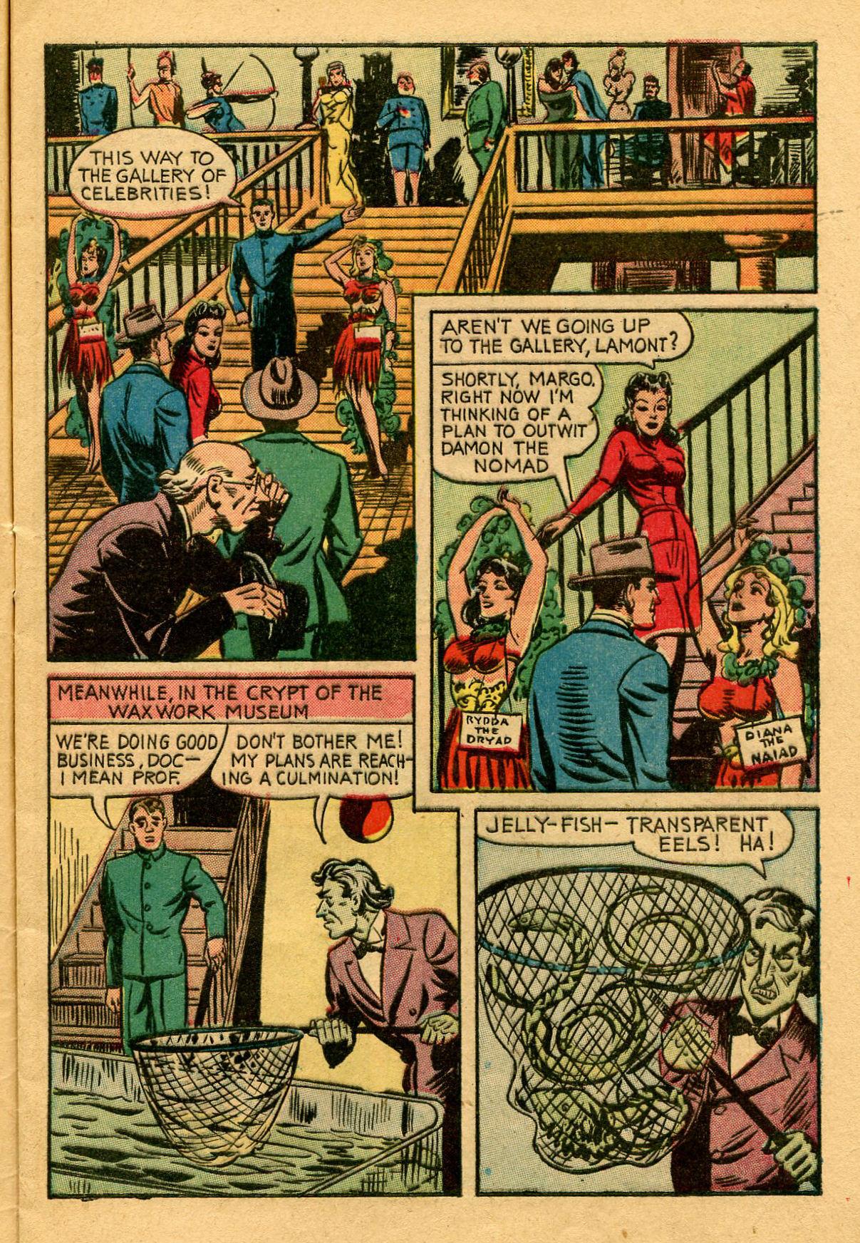 Read online Shadow Comics comic -  Issue #53 - 10