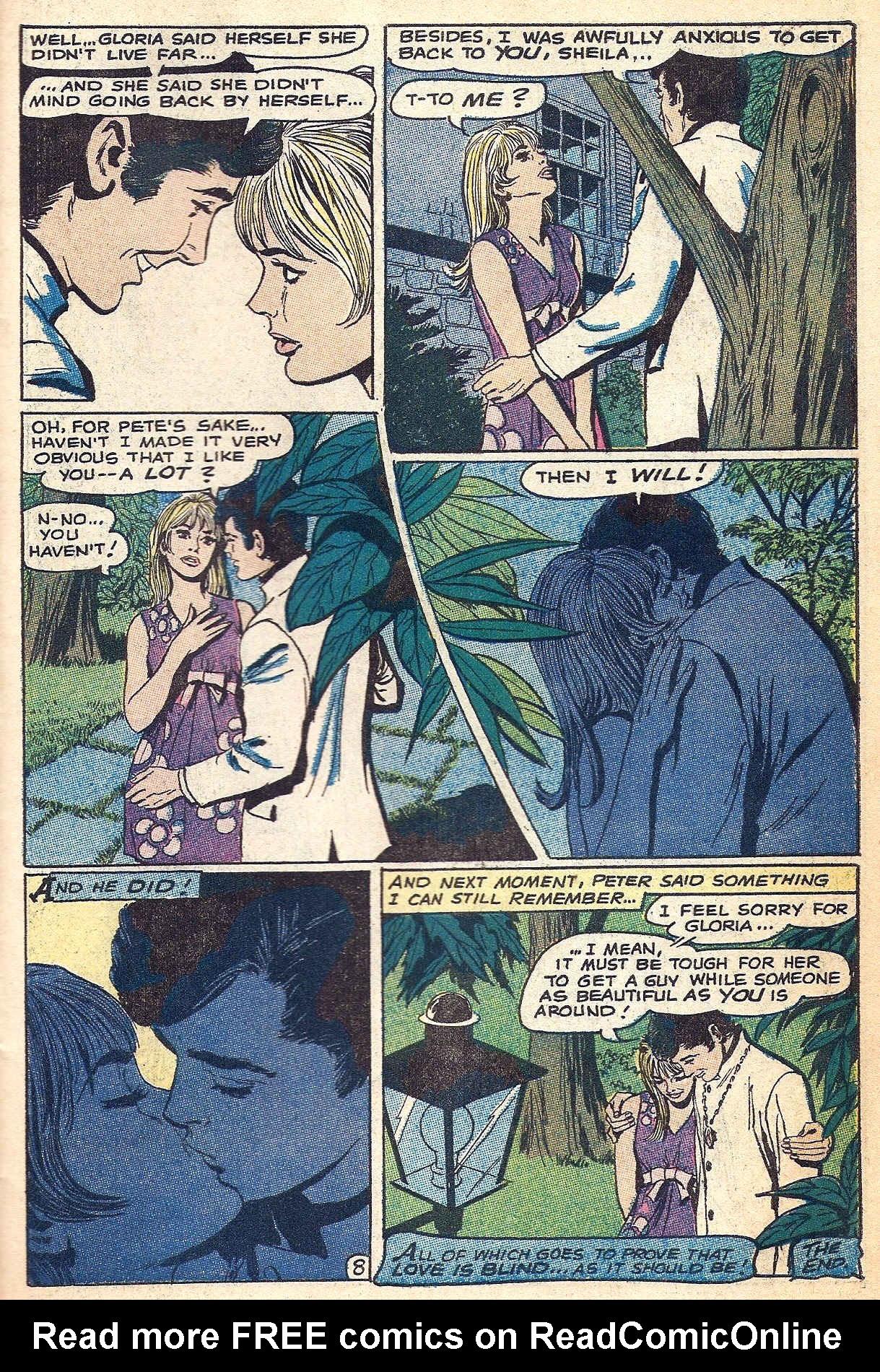 Read online Secret Hearts comic -  Issue #140 - 31