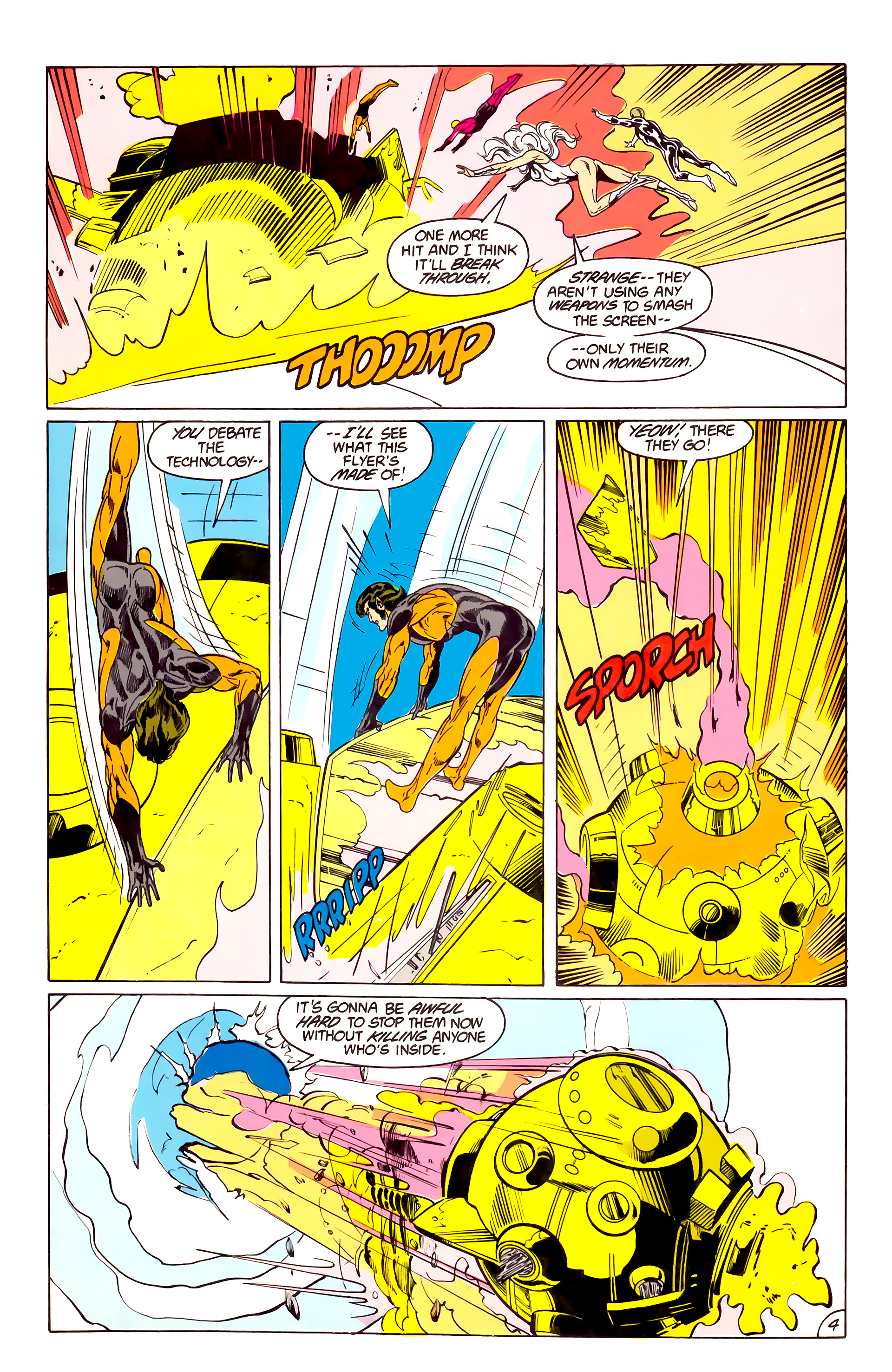 Legion of Super-Heroes (1984) 40 Page 4