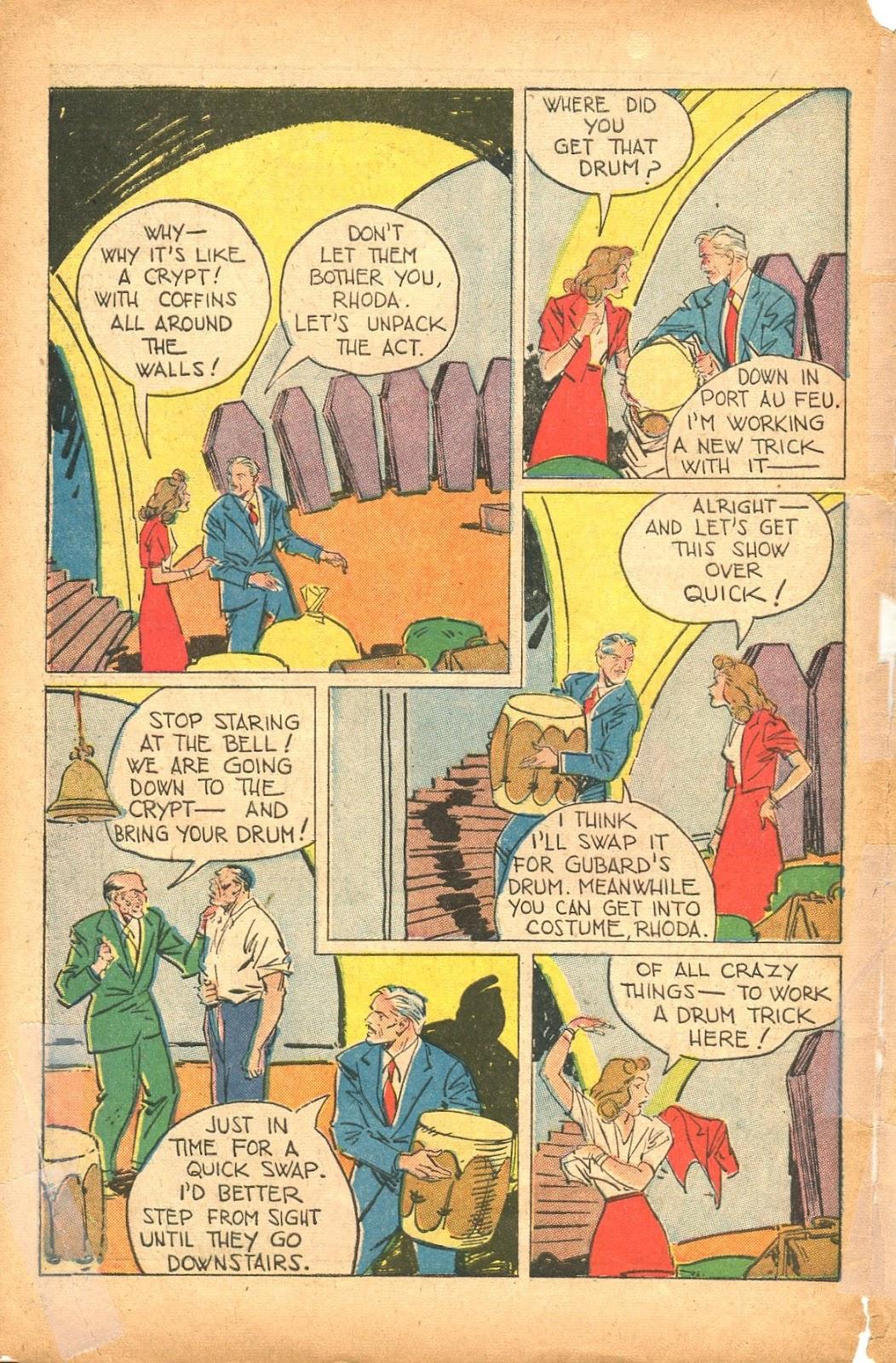 Read online Super-Magician Comics comic -  Issue #35 - 46