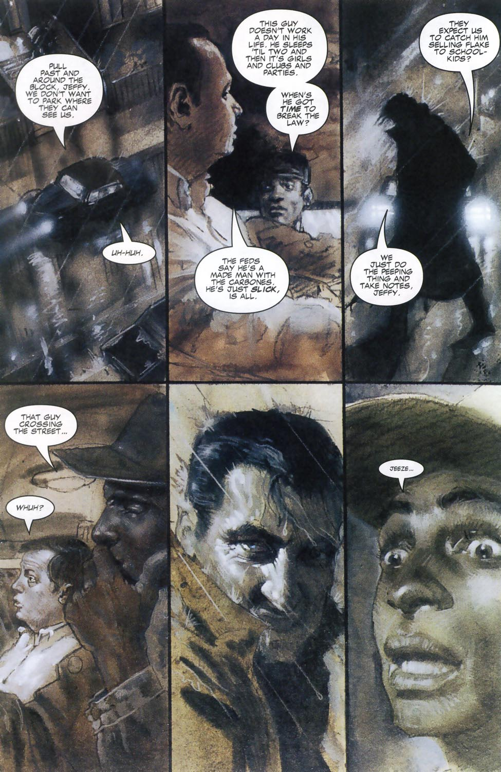 Read online Code of Honor comic -  Issue #2 - 21