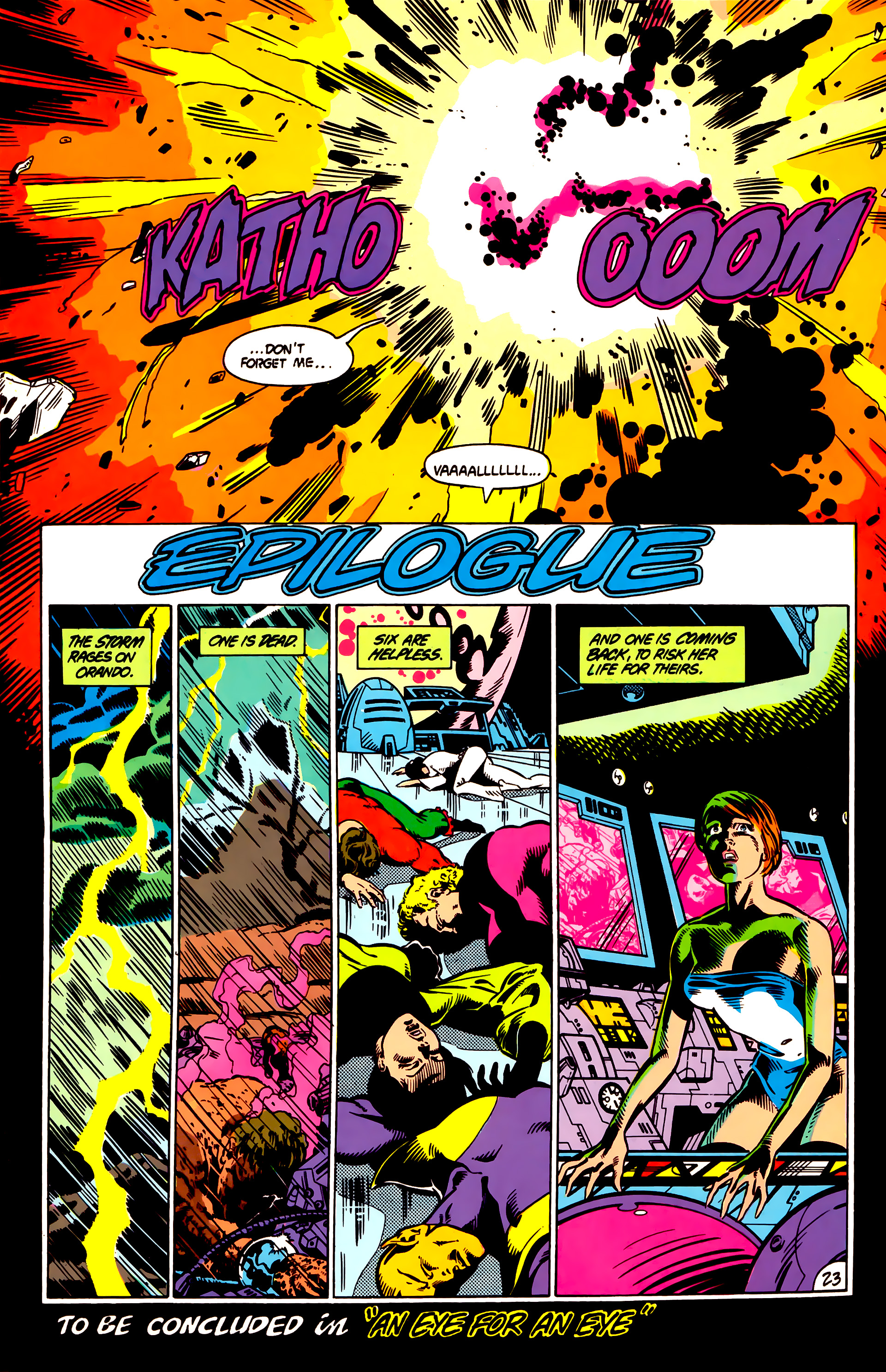 Legion of Super-Heroes (1984) 4 Page 24