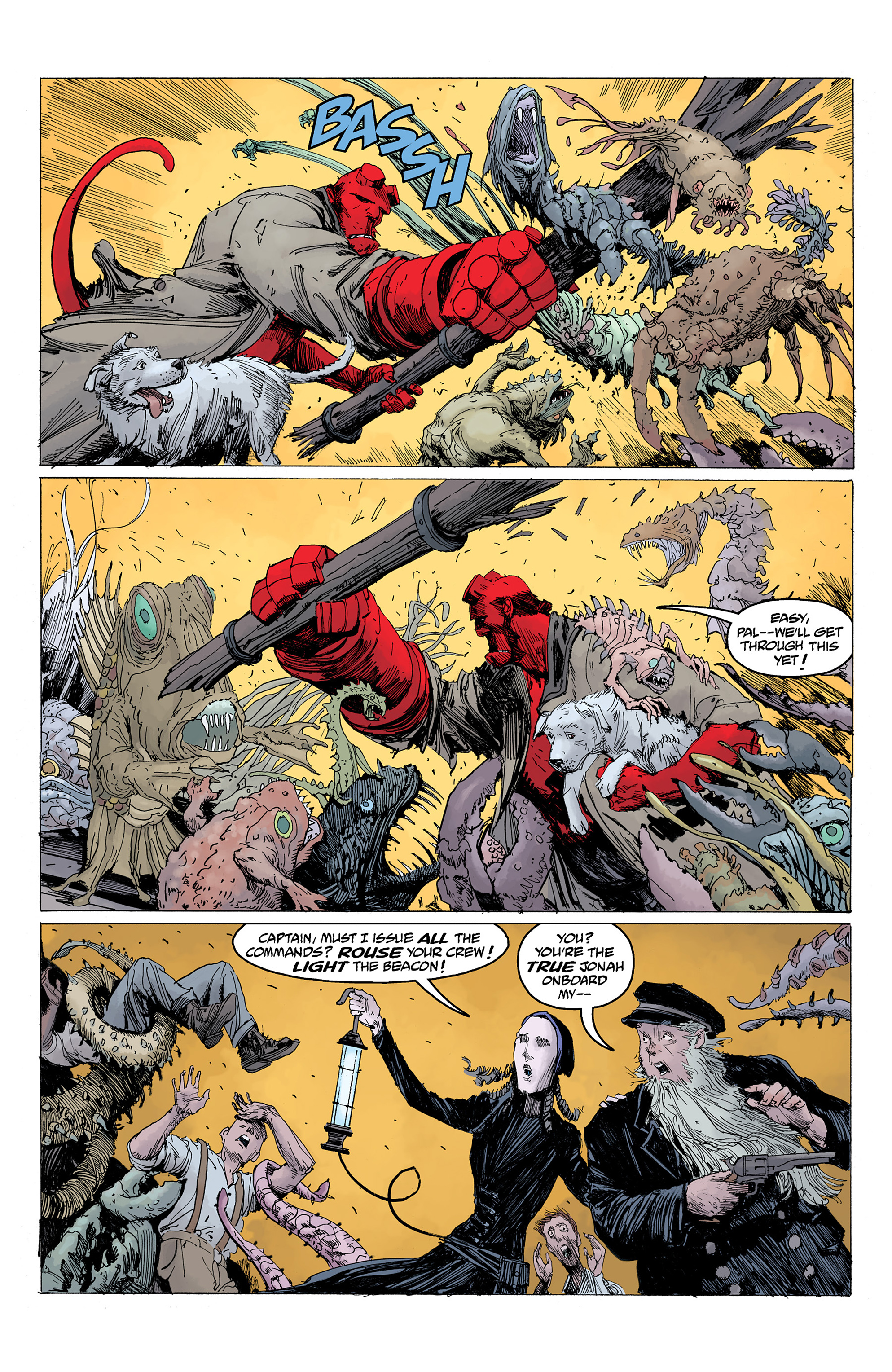 Read online Hellboy: Into the Silent Sea comic -  Issue # Full - 47