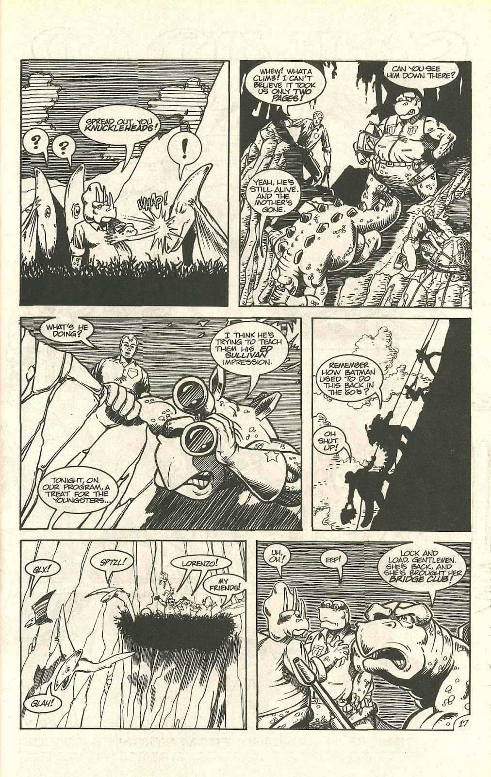 Dinosaurs For Hire (1988) issue 9 - Page 23