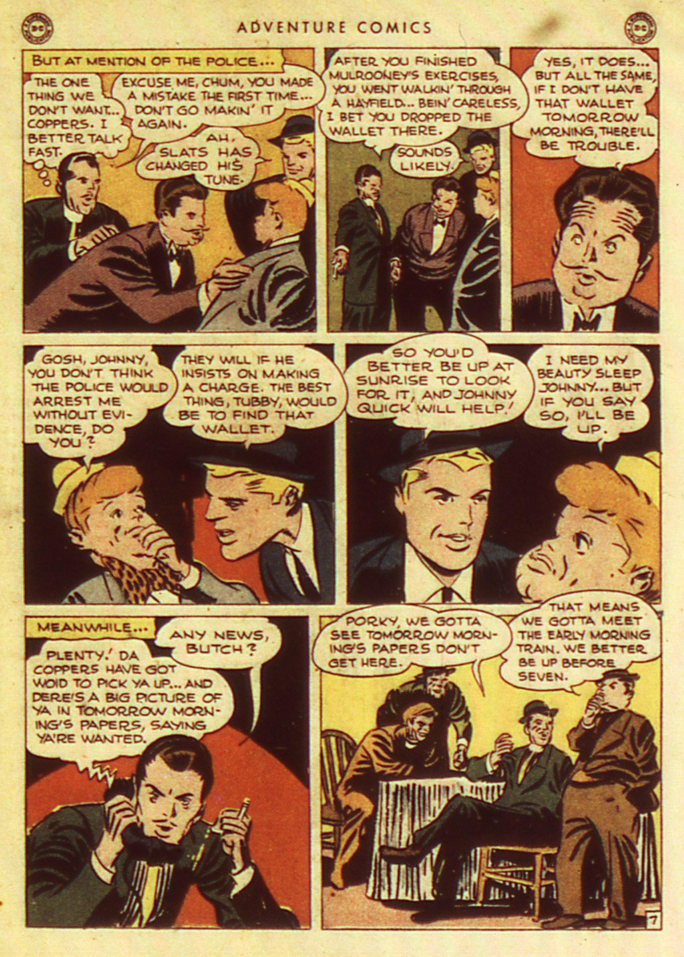Read online Adventure Comics (1938) comic -  Issue #105 - 27