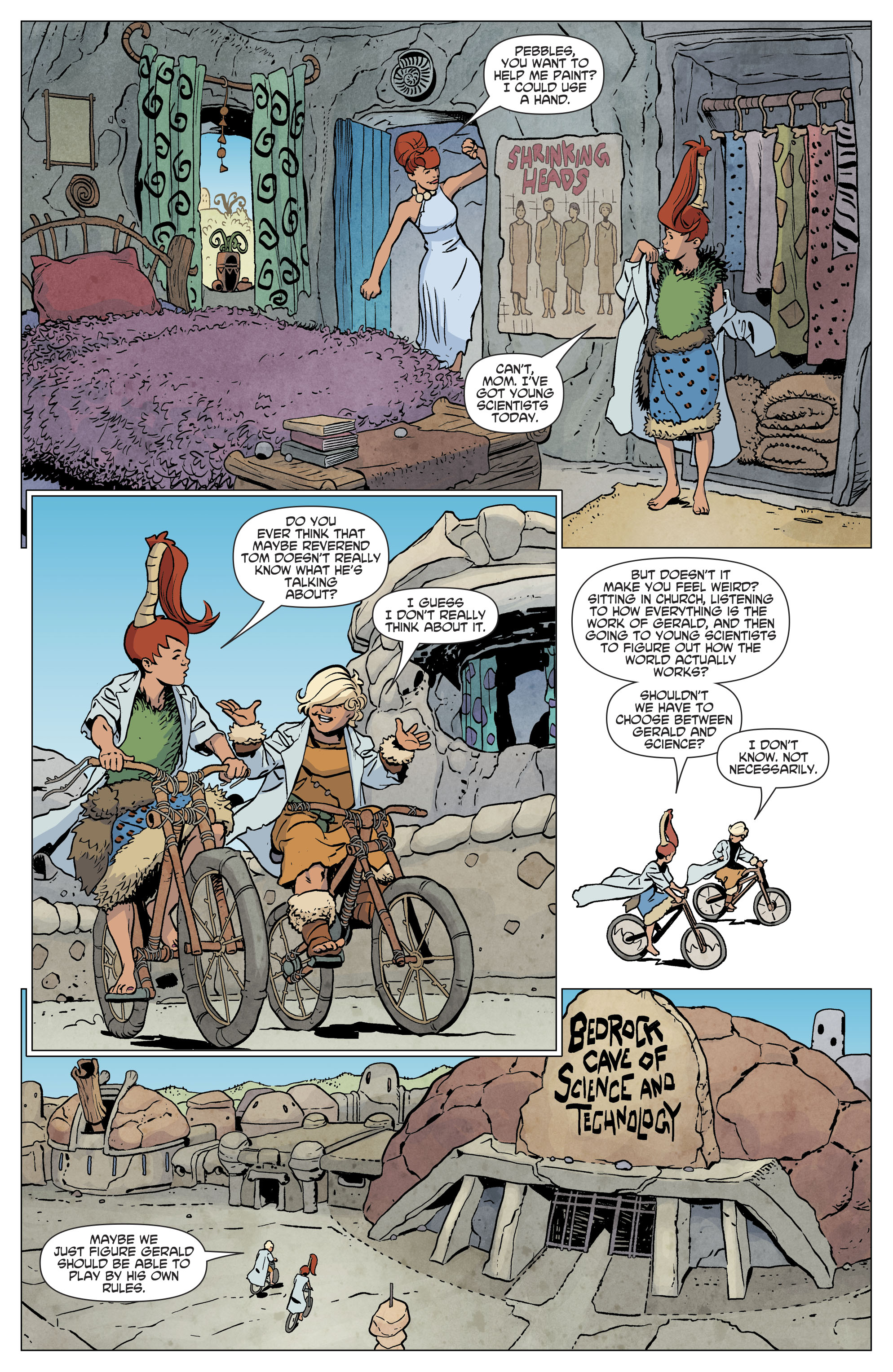Read online The Flintstones comic -  Issue #12 - 10