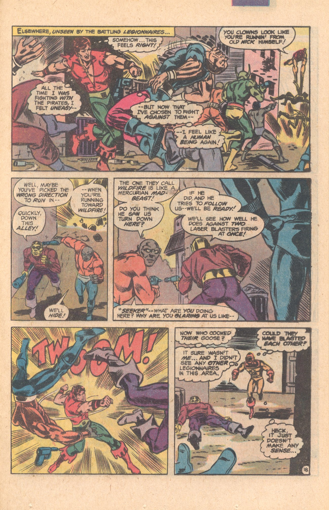 Legion of Super-Heroes (1980) 275 Page 18