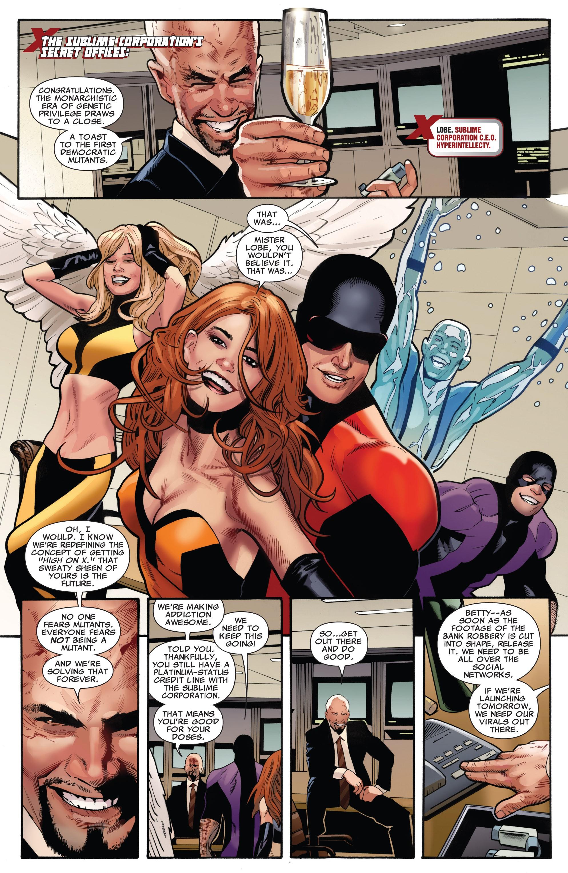 Read online Uncanny X-Men (1963) comic -  Issue #531 - 12