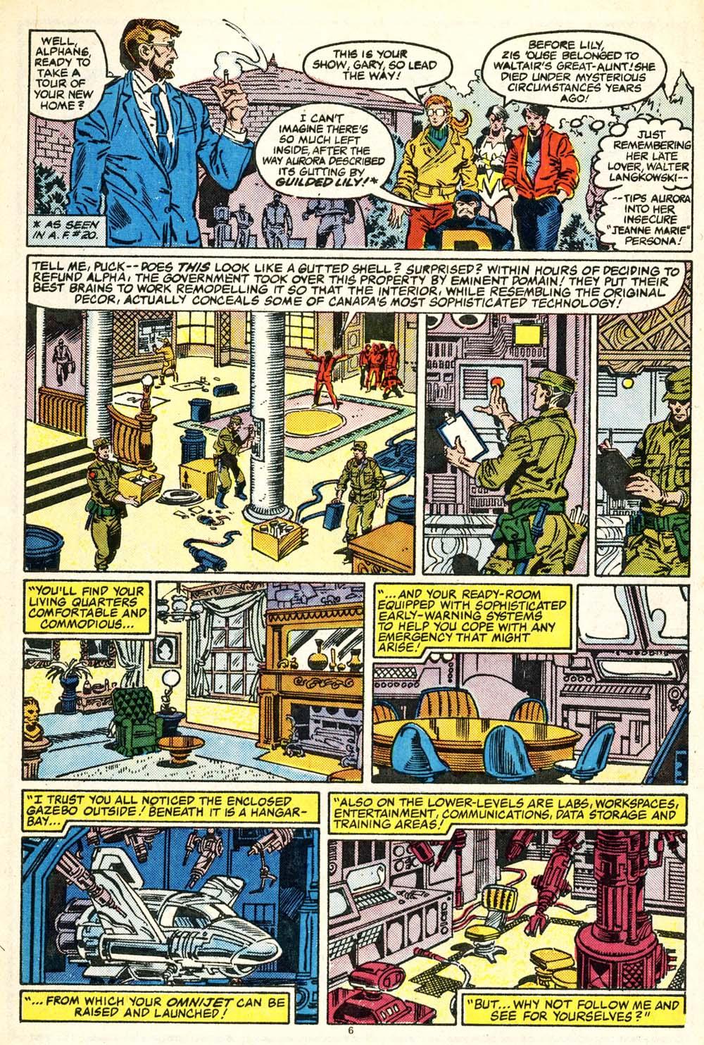 Read online Alpha Flight (1983) comic -  Issue #30 - 7