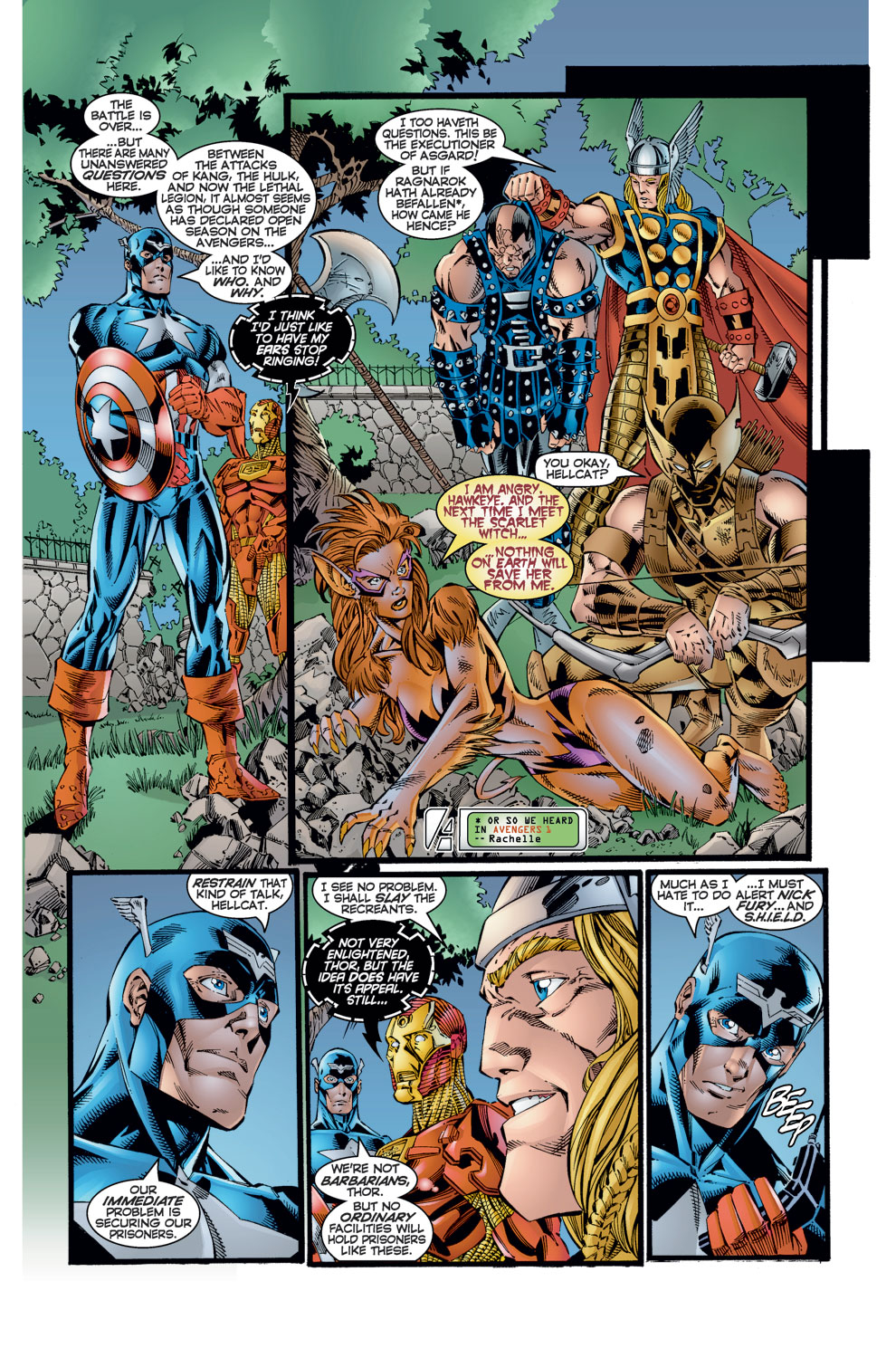 Read online Avengers (1996) comic -  Issue #8 - 9