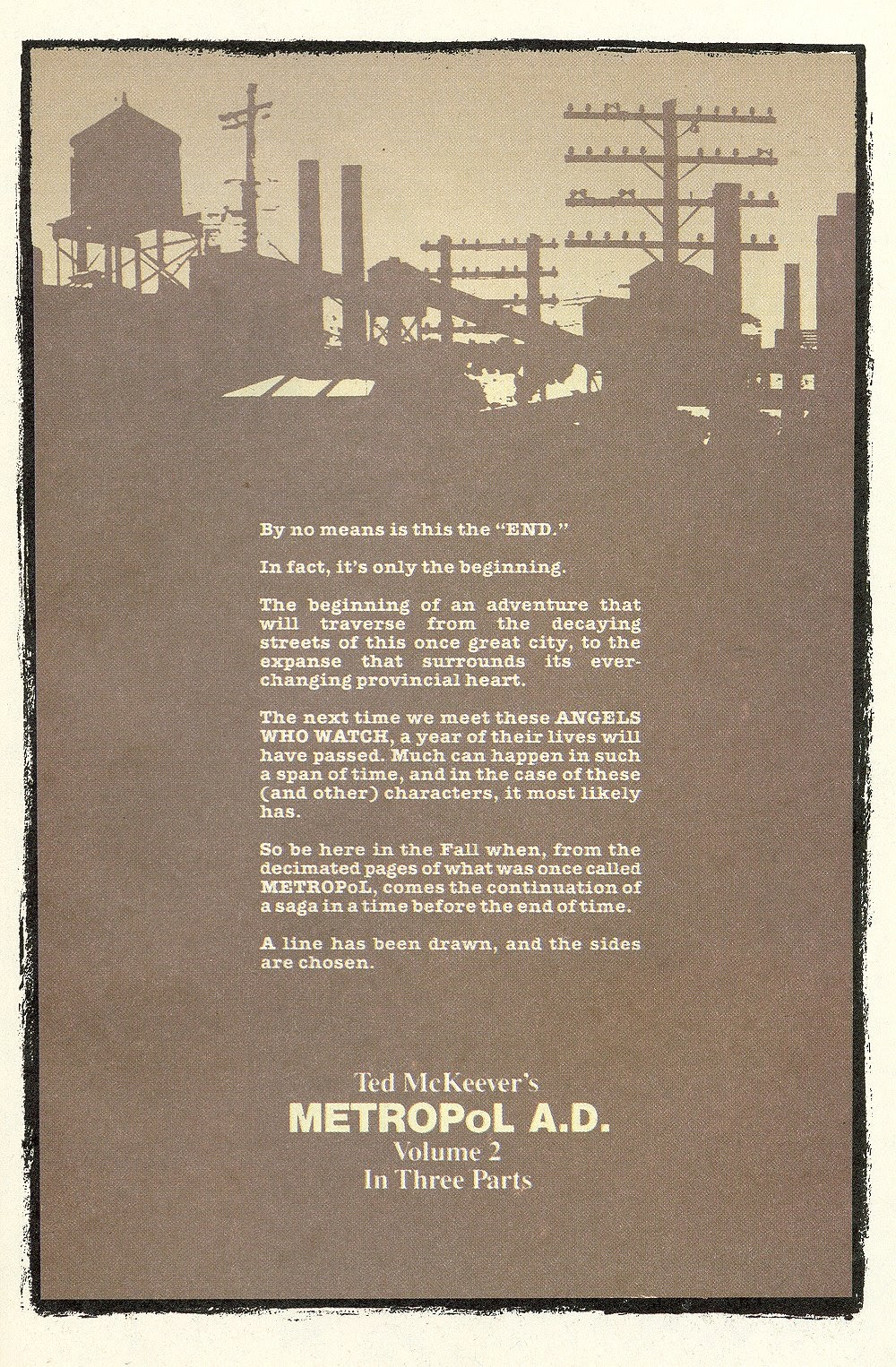 Read online Ted McKeever's Metropol comic -  Issue #12 - 32
