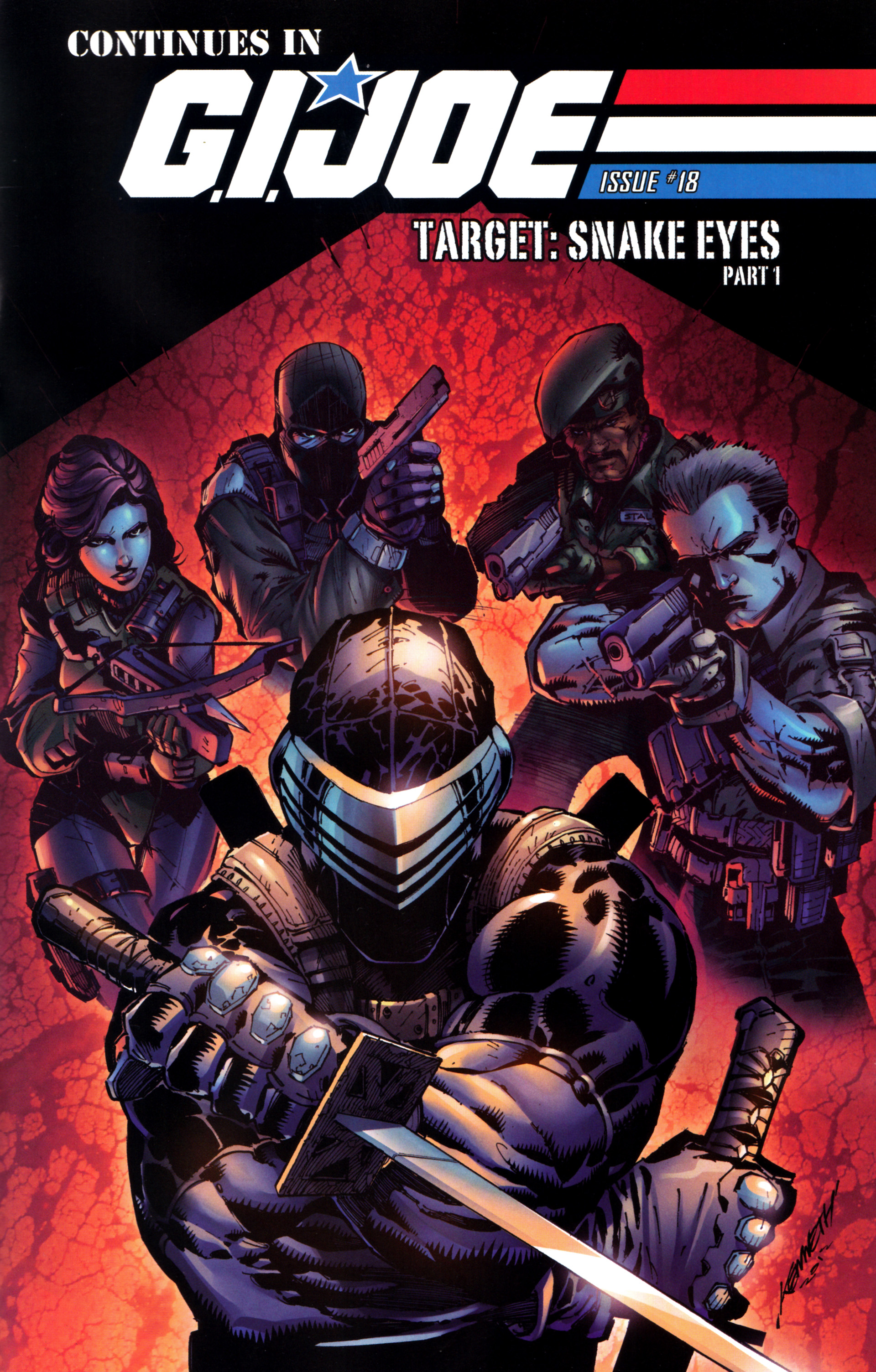 Read online Snake Eyes and Storm Shadow comic -  Issue #17 - 25