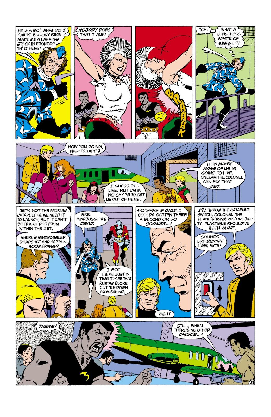 Suicide Squad (1987) Issue #2 #3 - English 22