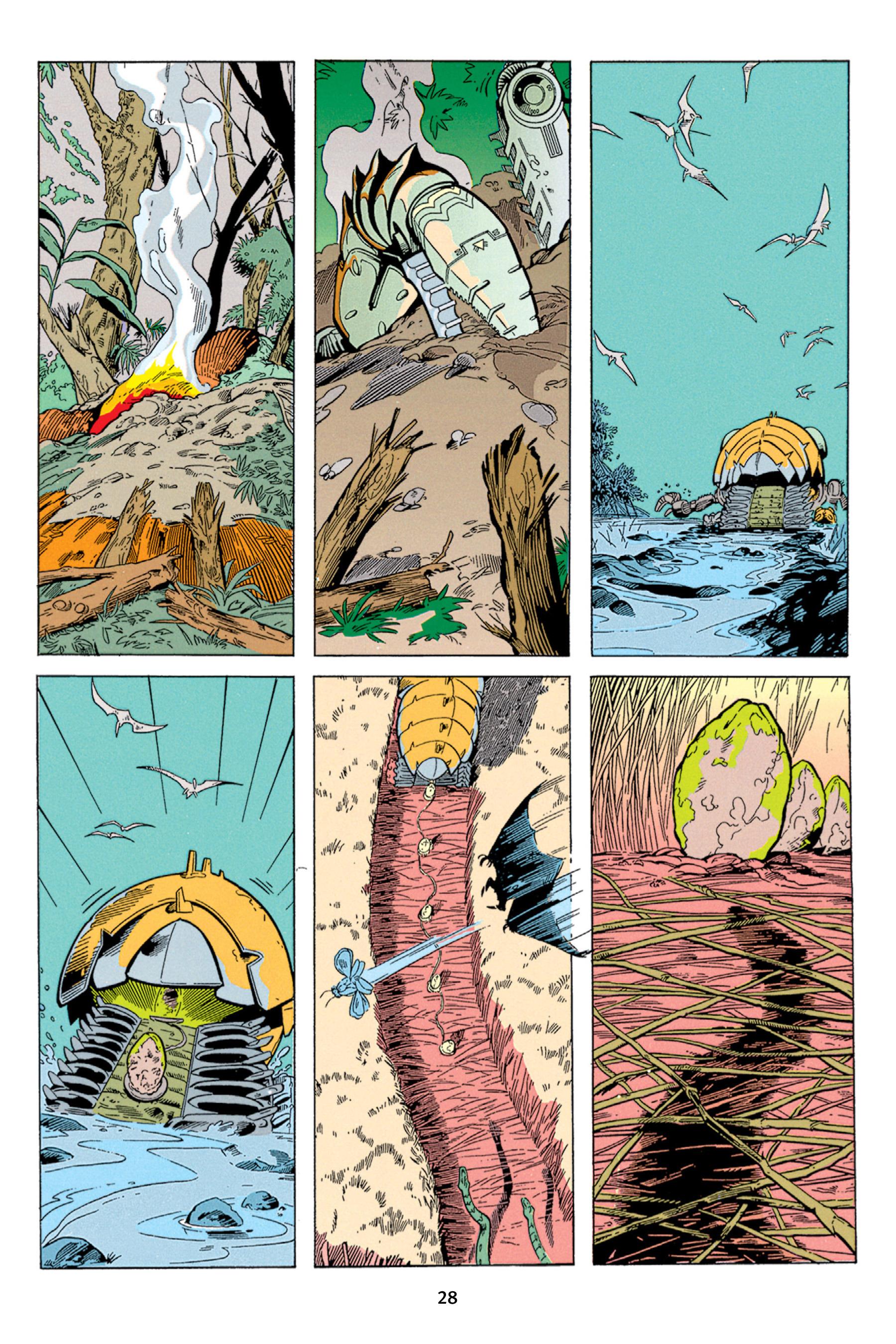 Read online Aliens vs. Predator Omnibus comic -  Issue # _TPB 1 Part 1 - 28