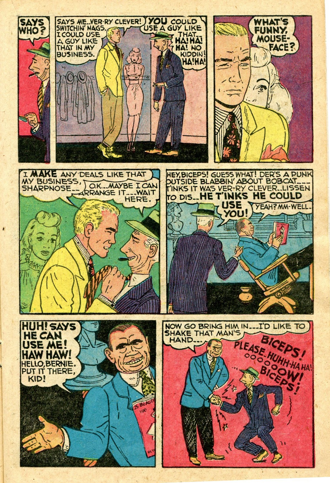 Read online Famous Funnies comic -  Issue #160 - 19