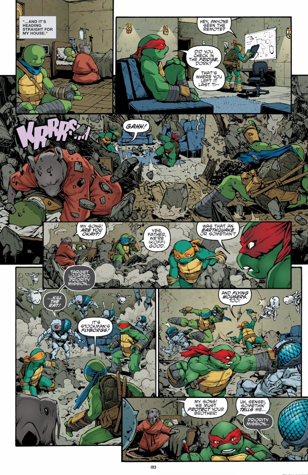 Read online Teenage Mutant Ninja Turtles: The IDW Collection comic -  Issue # TPB 6 (Part 2) - 90