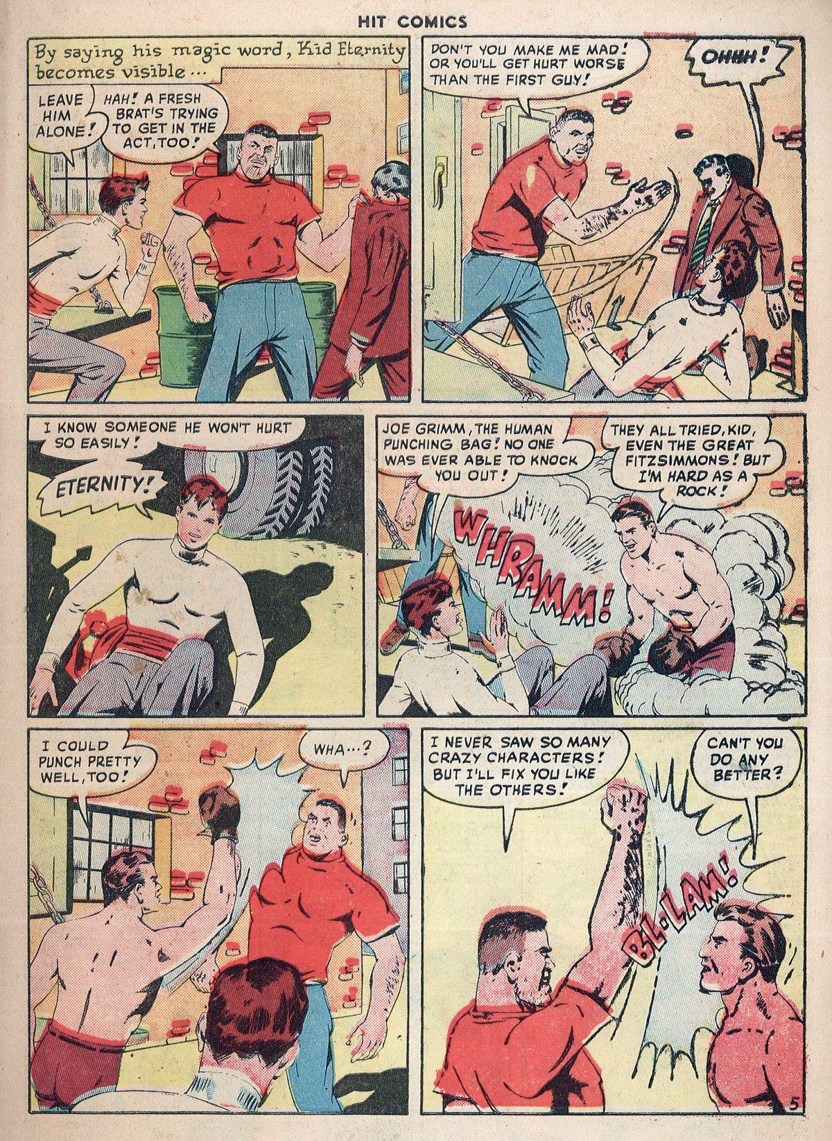 Read online Hit Comics comic -  Issue #55 - 7