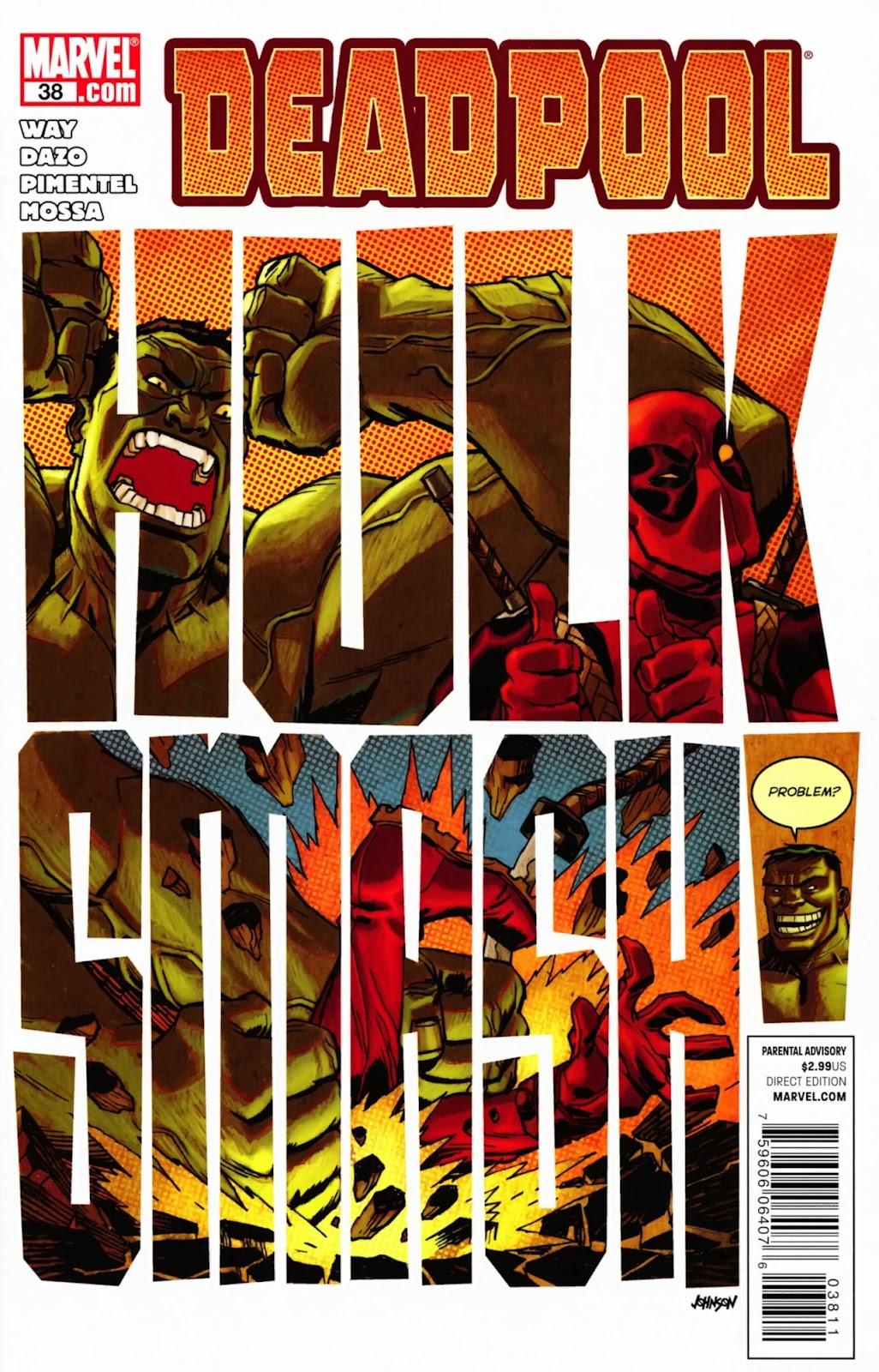 Read online Deadpool (2008) comic -  Issue #38 - 1