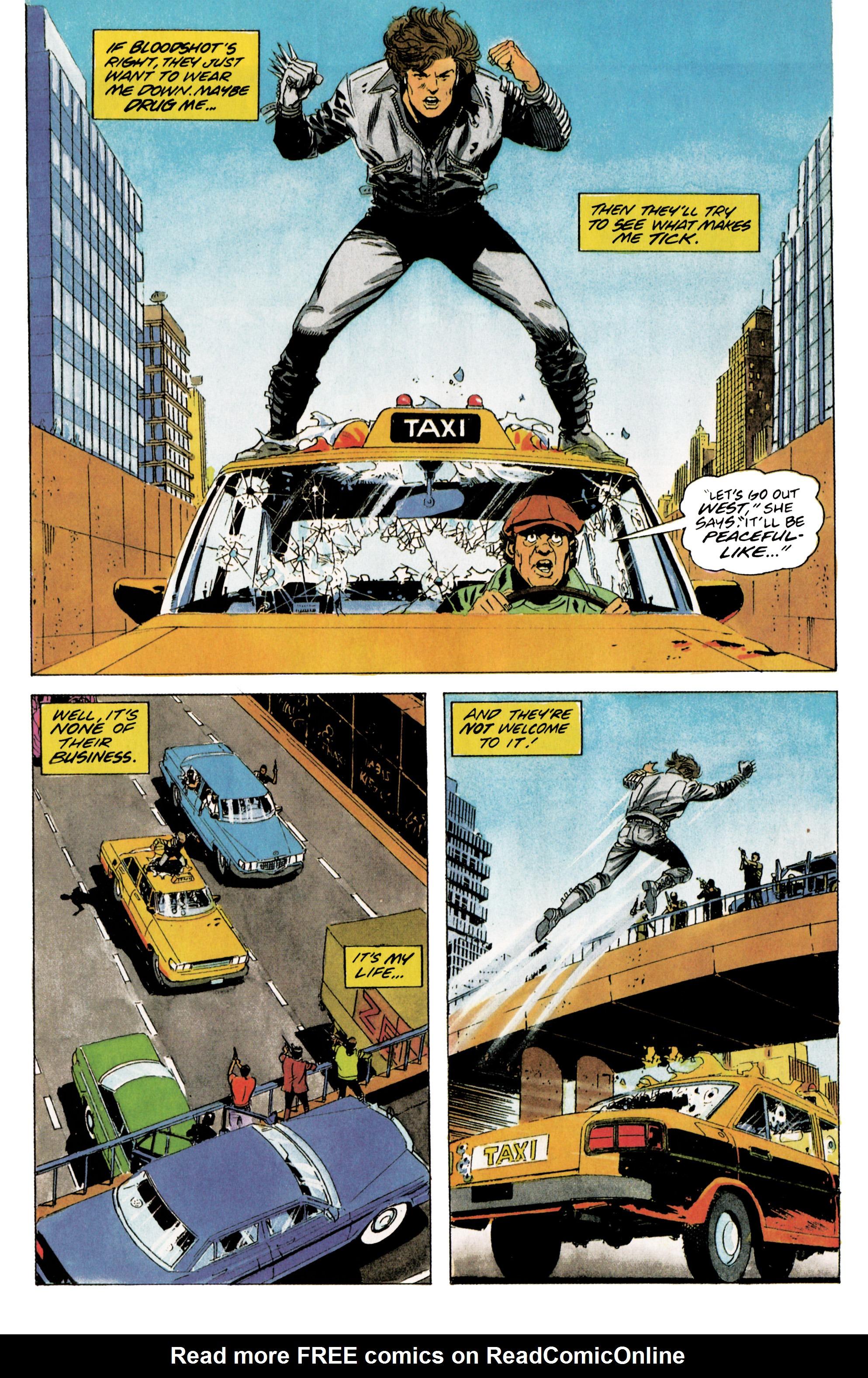 Read online Eternal Warrior (1992) comic -  Issue #5 - 12
