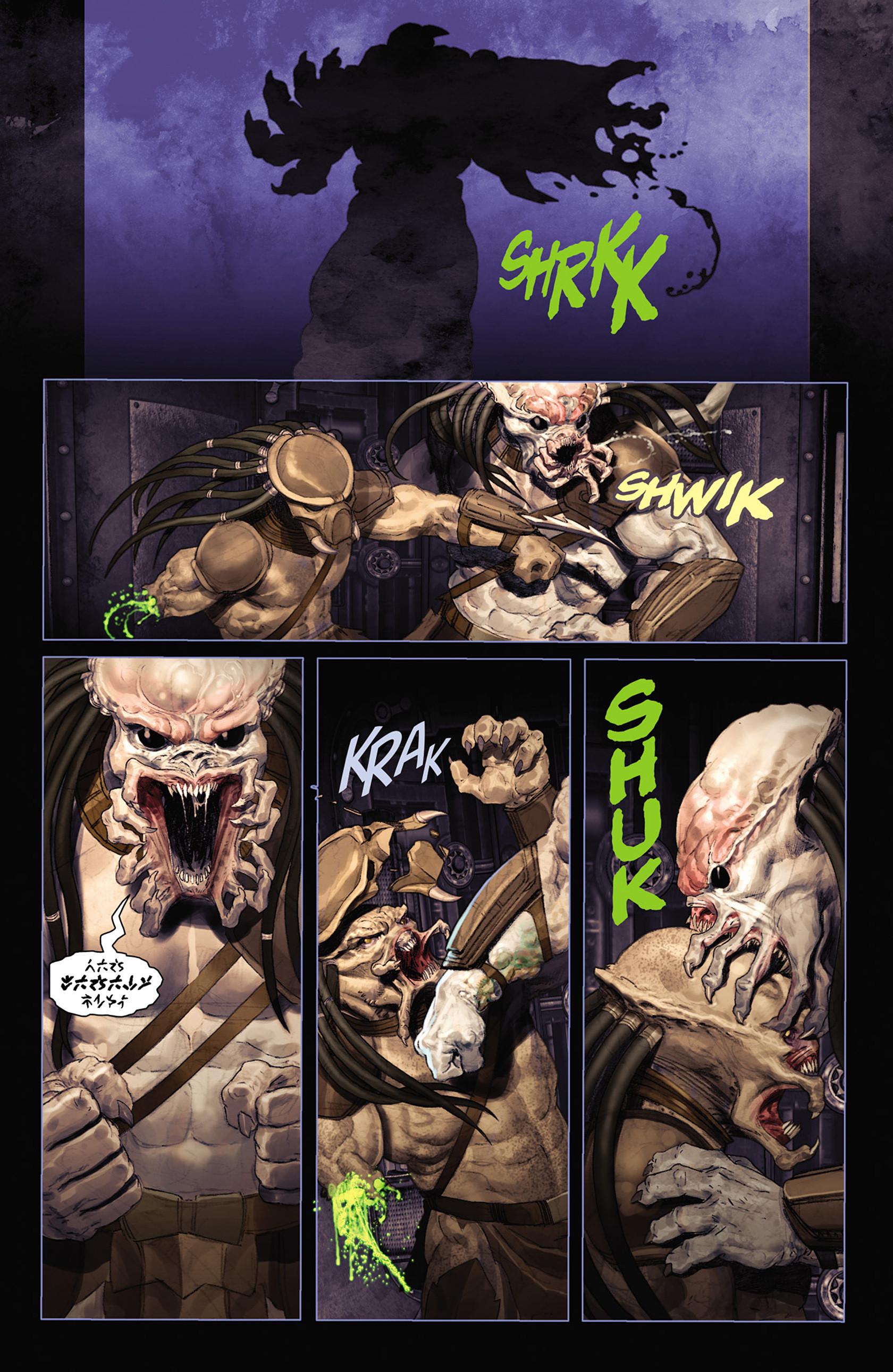 Read online Alien vs. Predator: Fire and Stone comic -  Issue #2 - 19