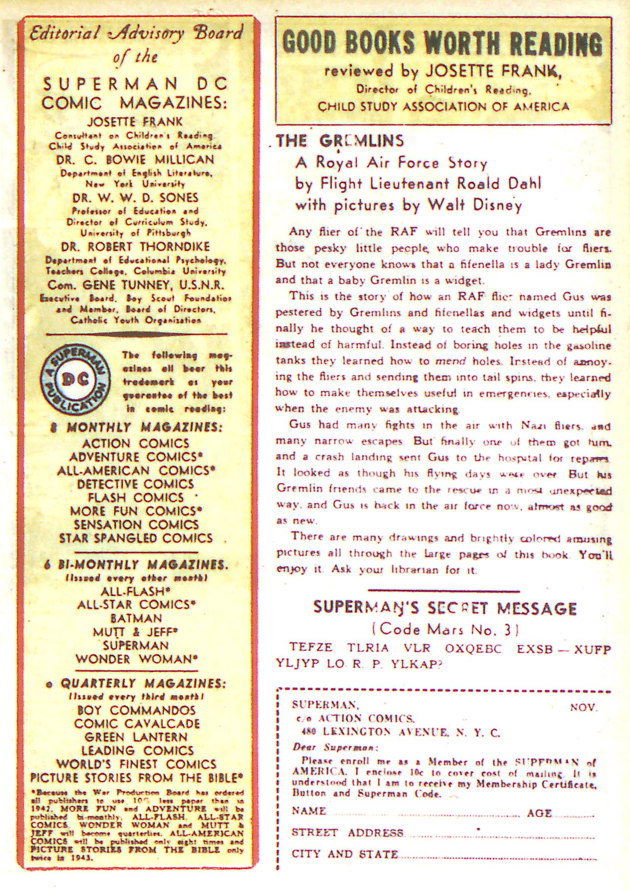 Read online Detective Comics (1937) comic -  Issue #81 - 25