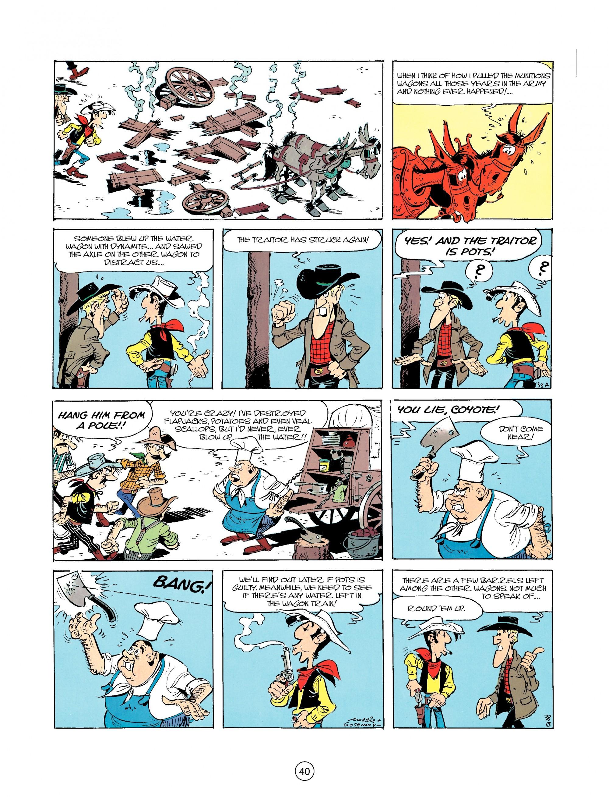 Read online A Lucky Luke Adventure comic -  Issue #35 - 40