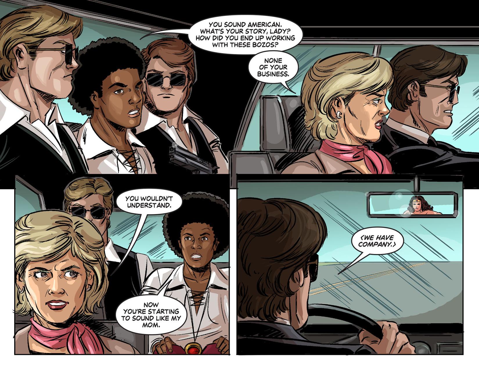 Read online Wonder Woman '77 [I] comic -  Issue #24 - 5