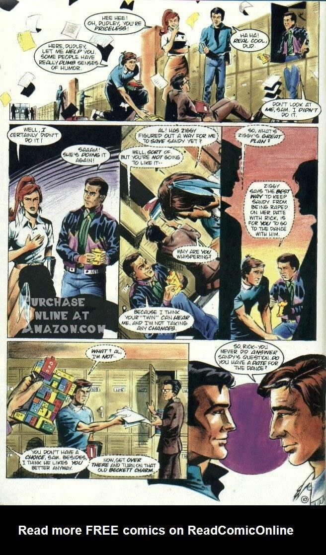 Read online Quantum Leap comic -  Issue #6 - 11